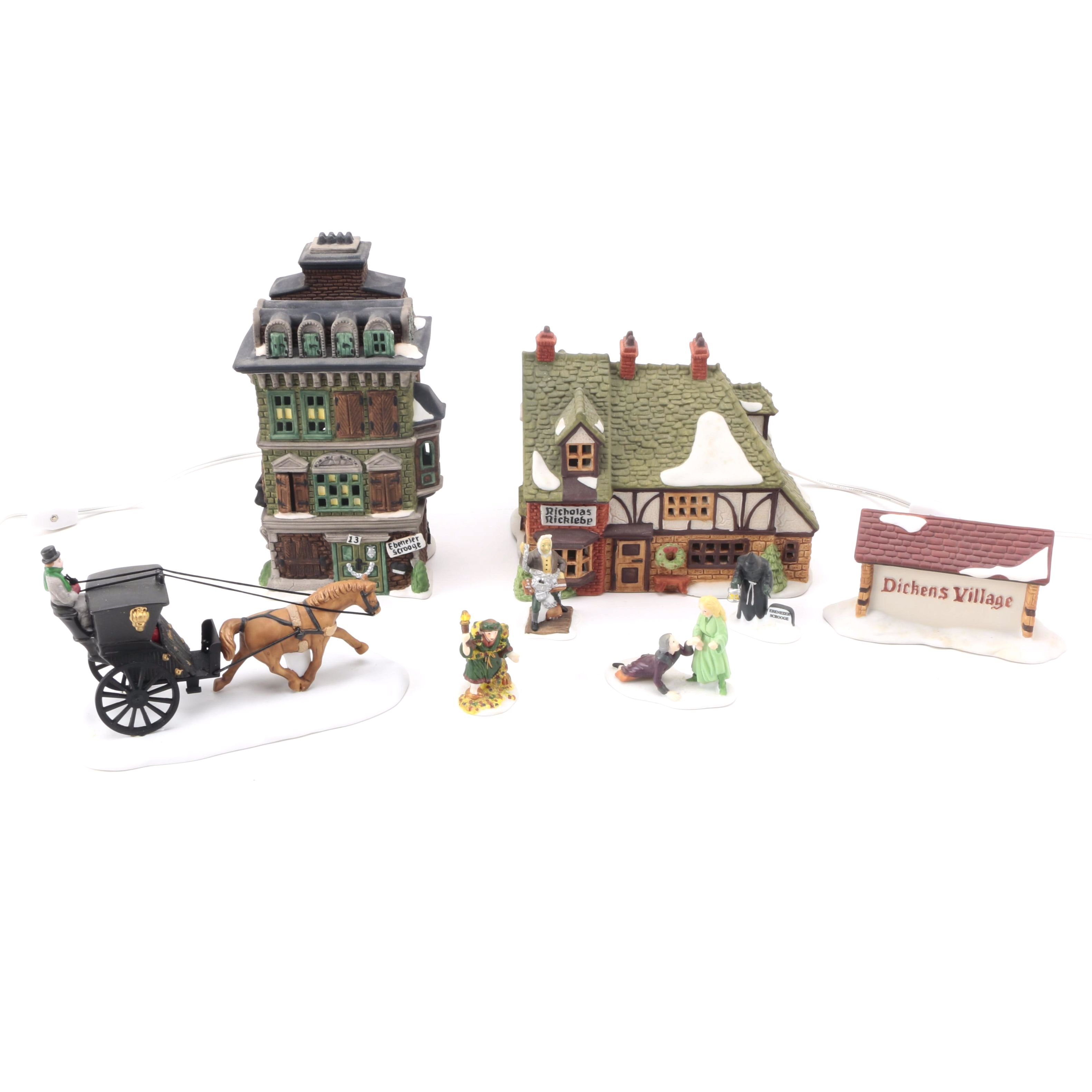 Assorted Heritage Village Collection for Department 56 Figurines