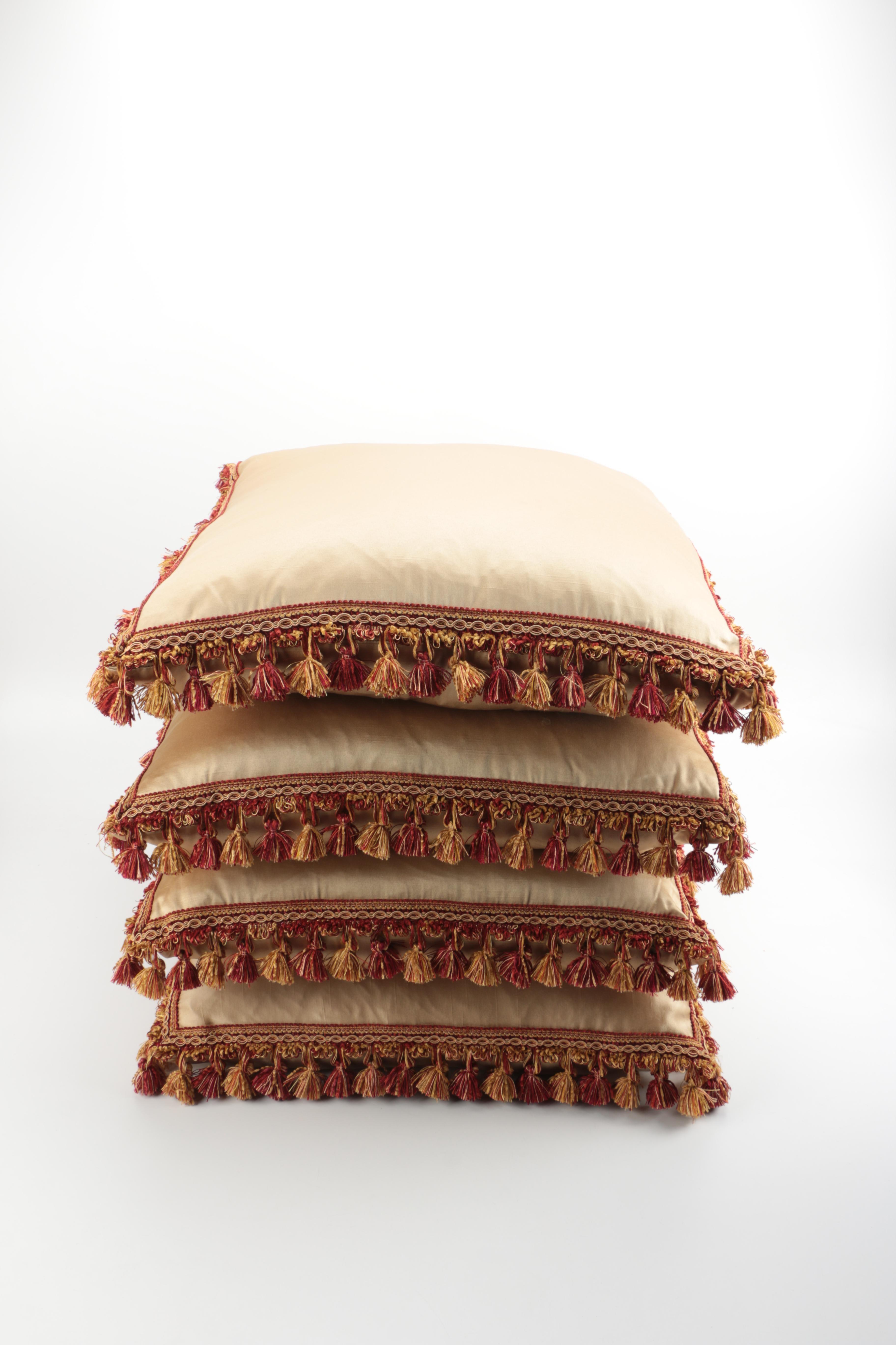 Beige Throw Pillows