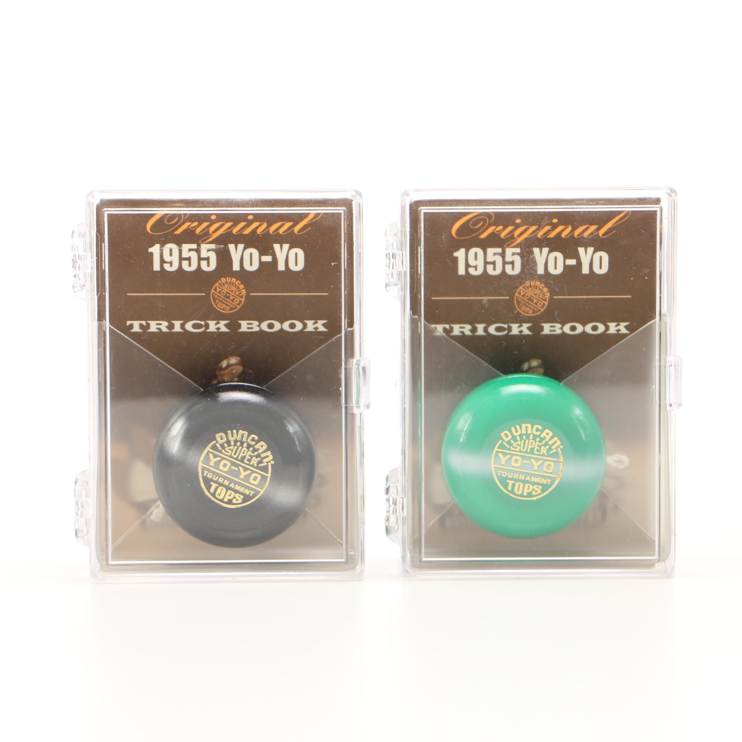 Pair of 1955 Duncan Super Yo-Yo's