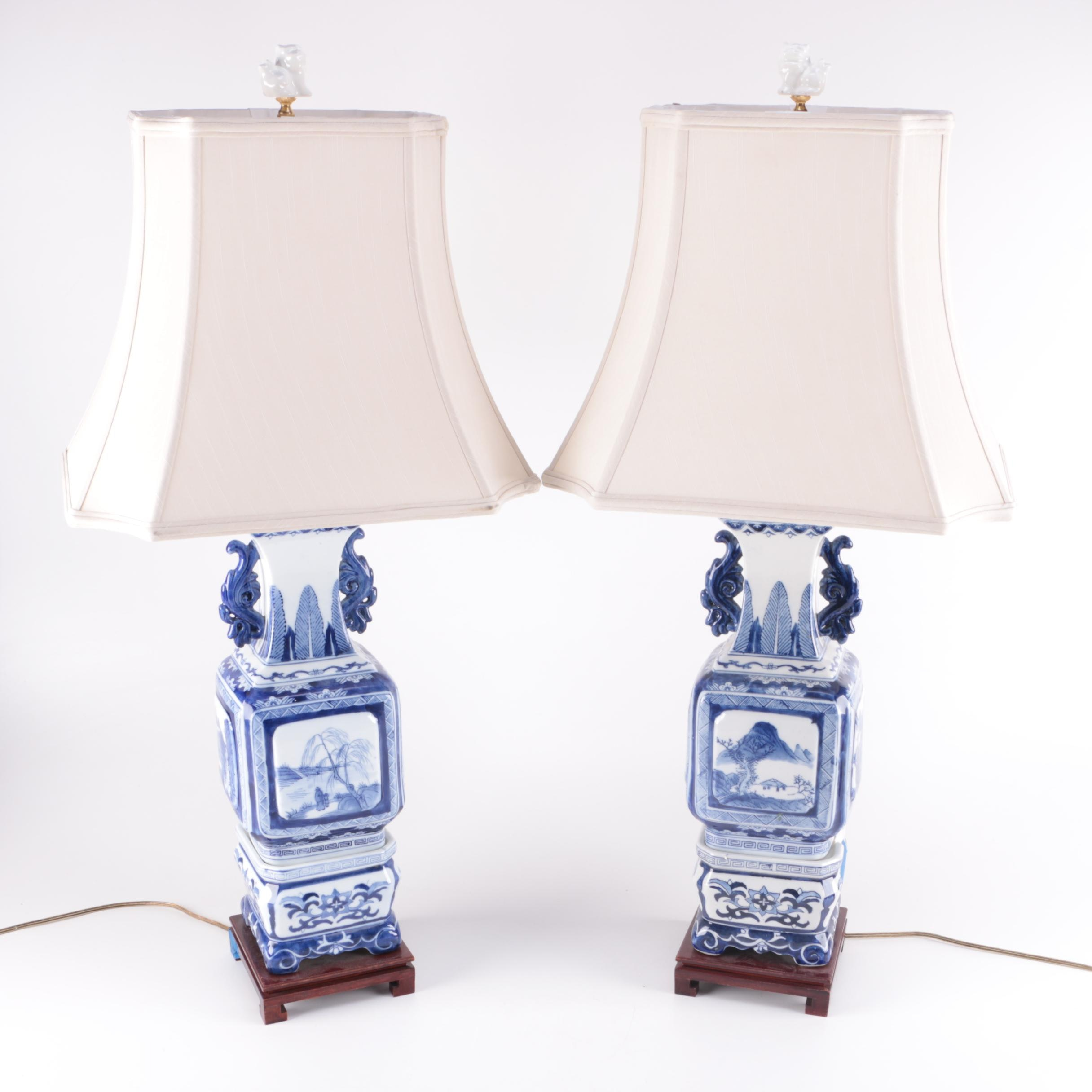 Chinese Style Ceramic Lamps