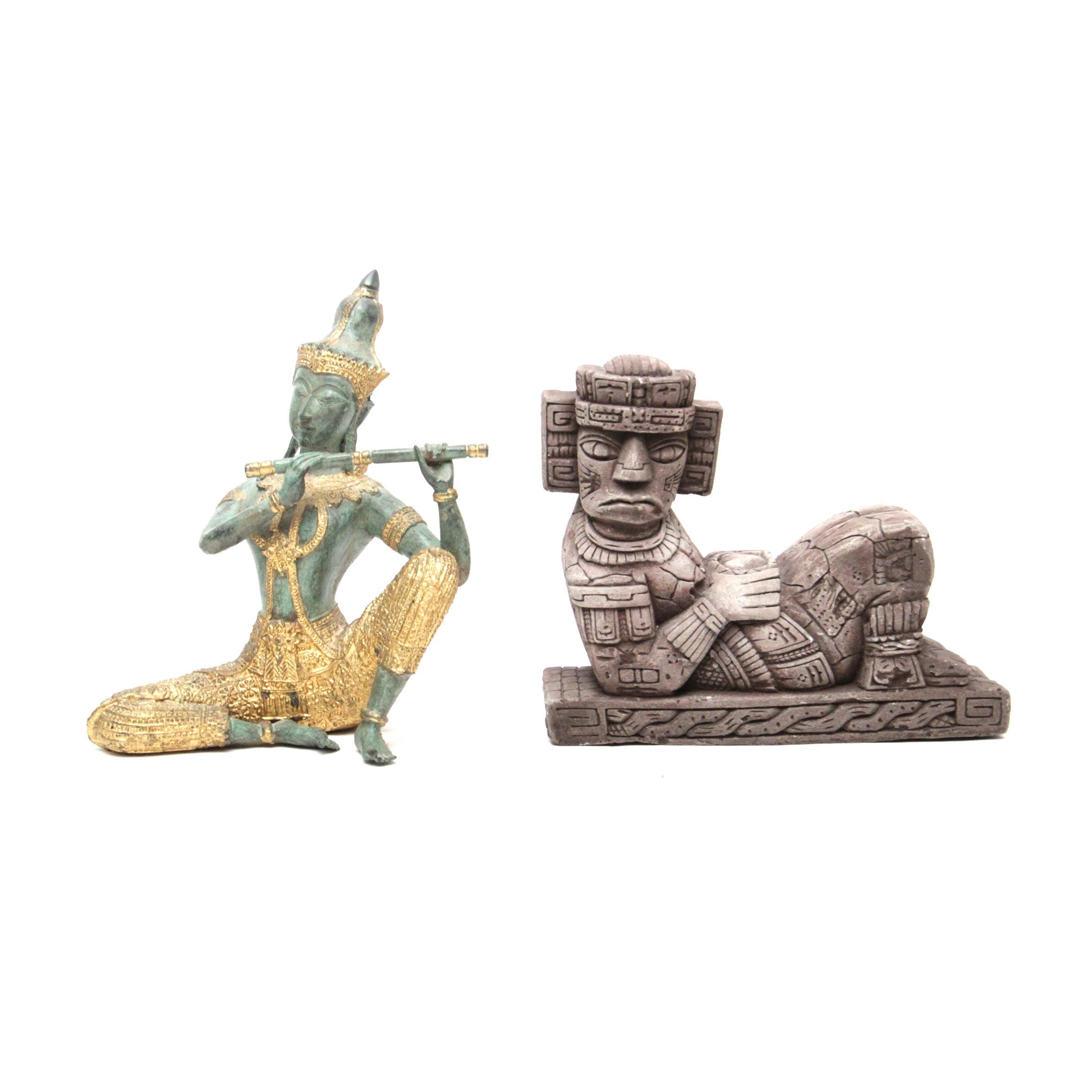 Thai and Mesoamerican Figurines