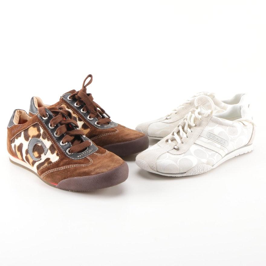 Women s Coach Sneakers   EBTH 87fbf576f