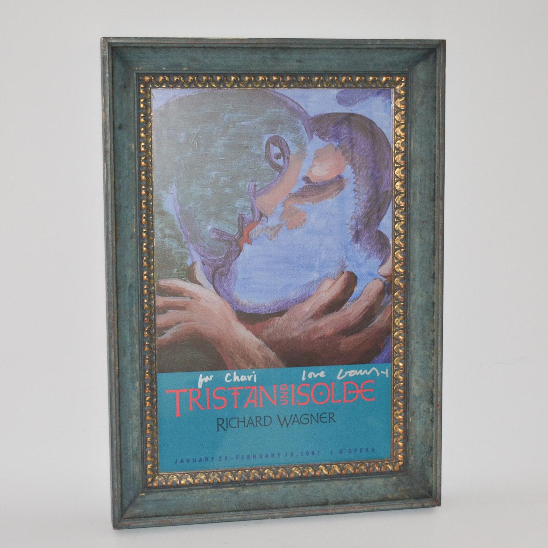 """Trist und Isolde"" L.A. Opera Framed Promotional Poster"