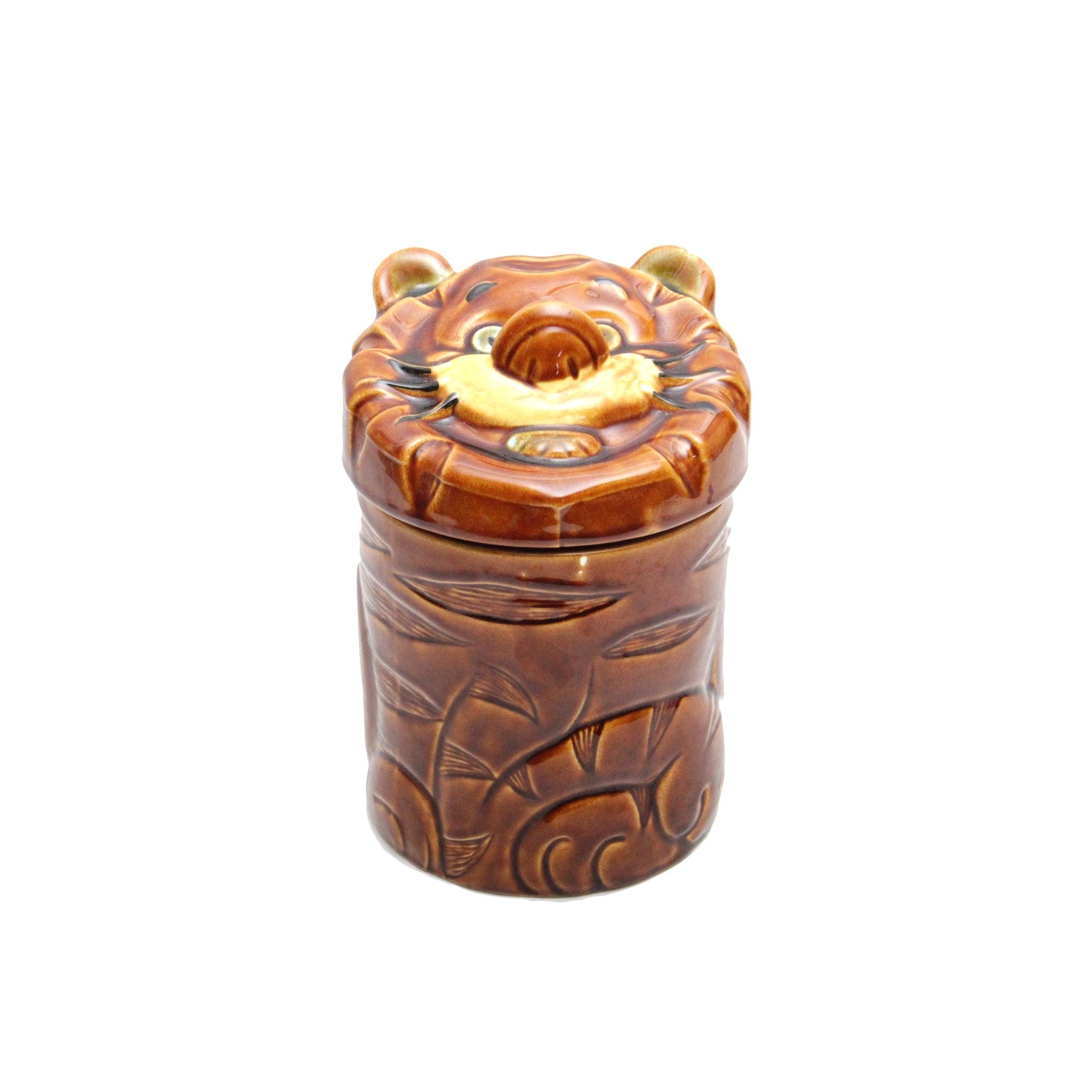 Vintage Ceramic Cookie Jar from Japan