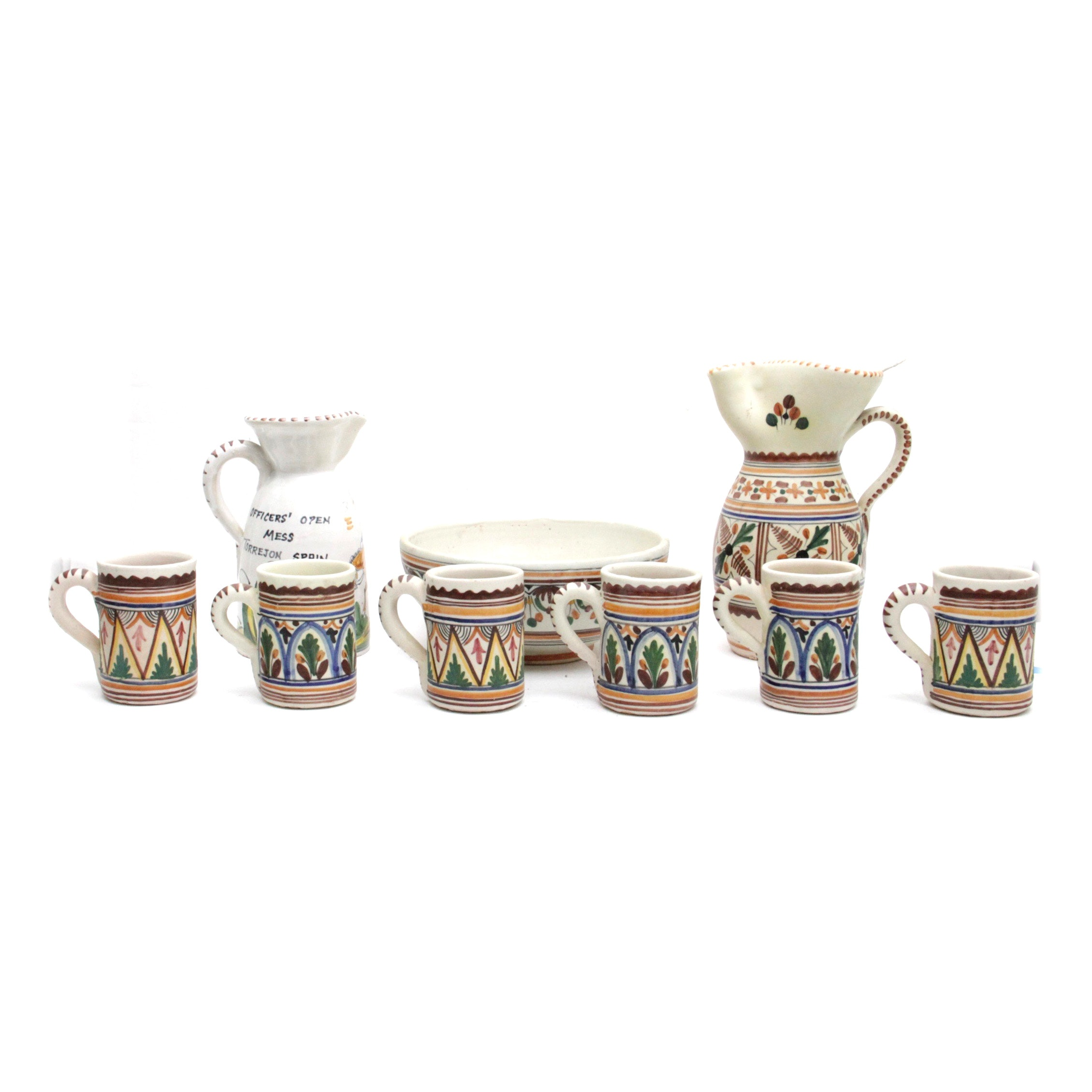 Sanguino Toledo Spanish Pottery