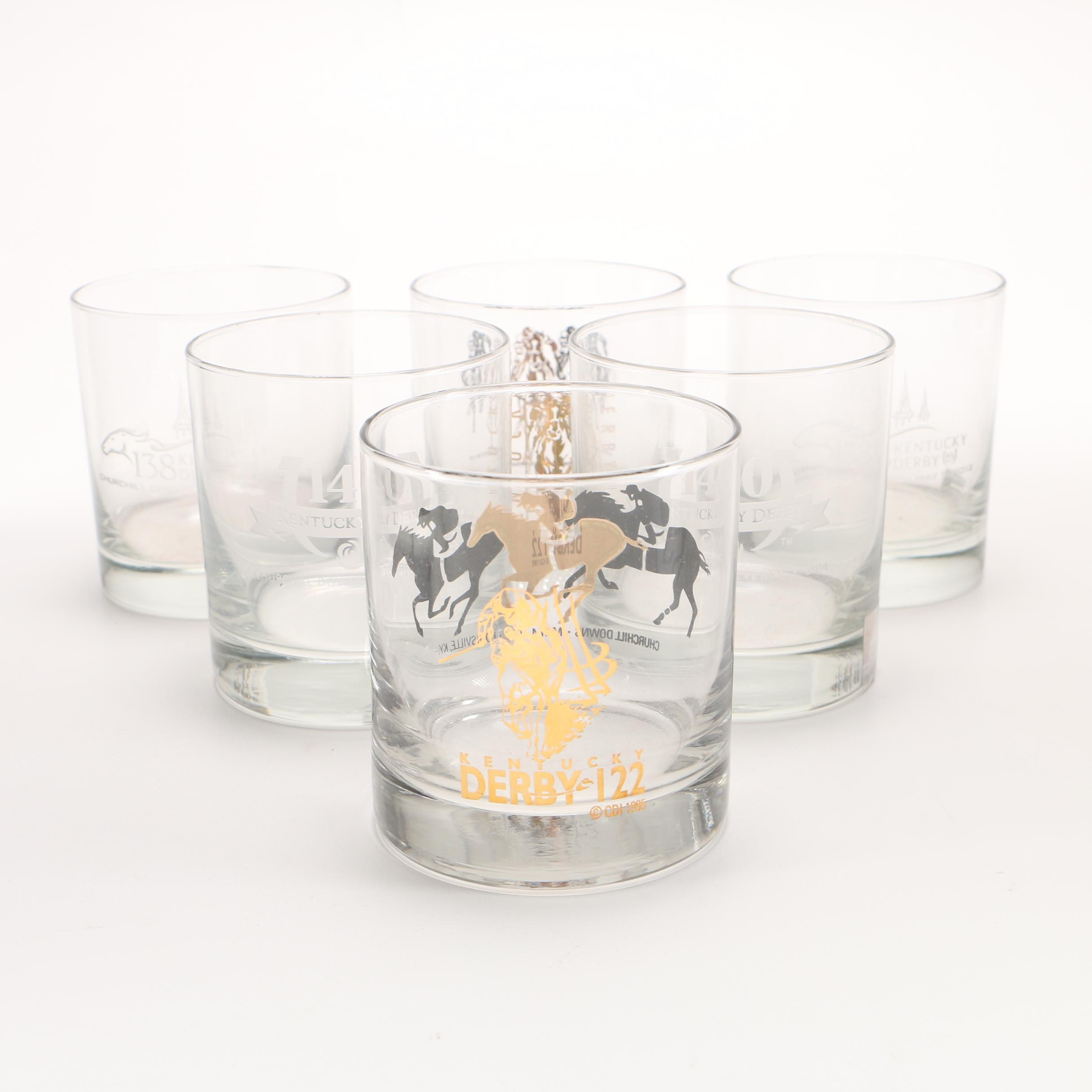Kentucky Derby Old Fashioned Glasses