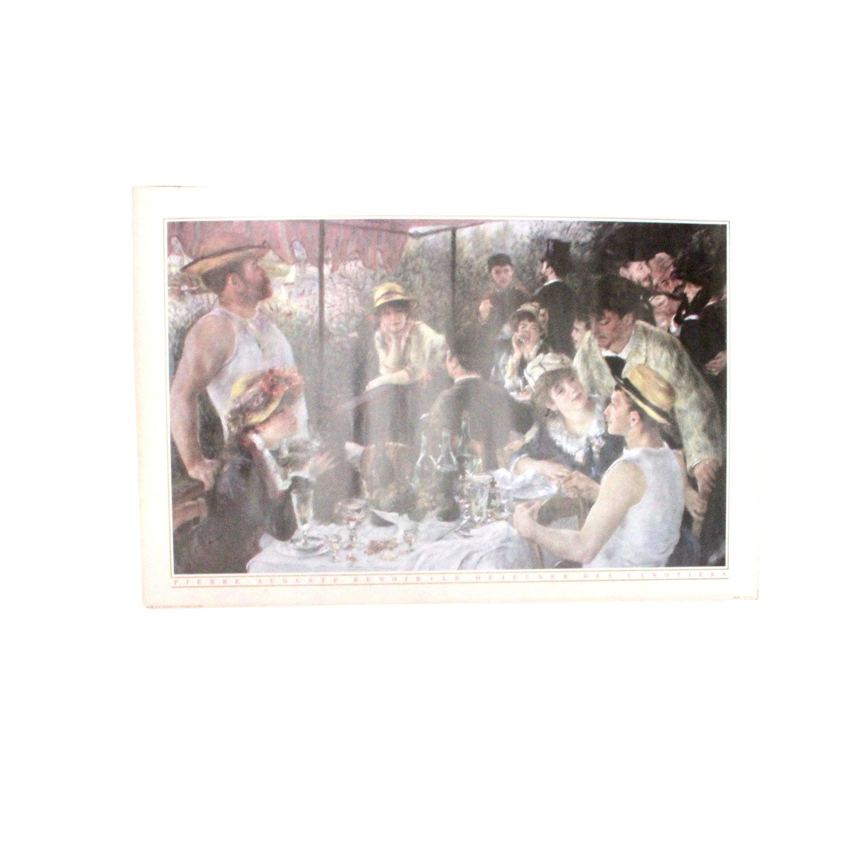 Offset Lithograph Poster After Renoir