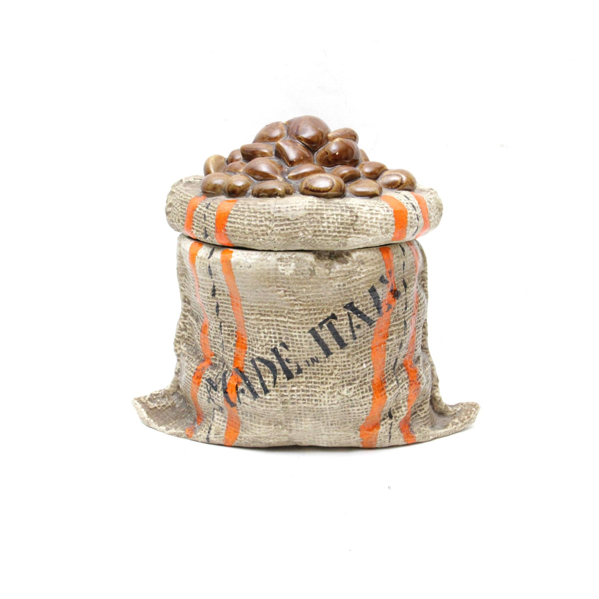 Mancioli Italian Ceramic Cookie Jar