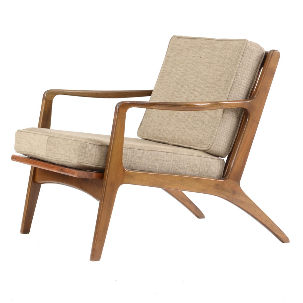 Danish modern lounge chair ebth for Stylish lounge chairs
