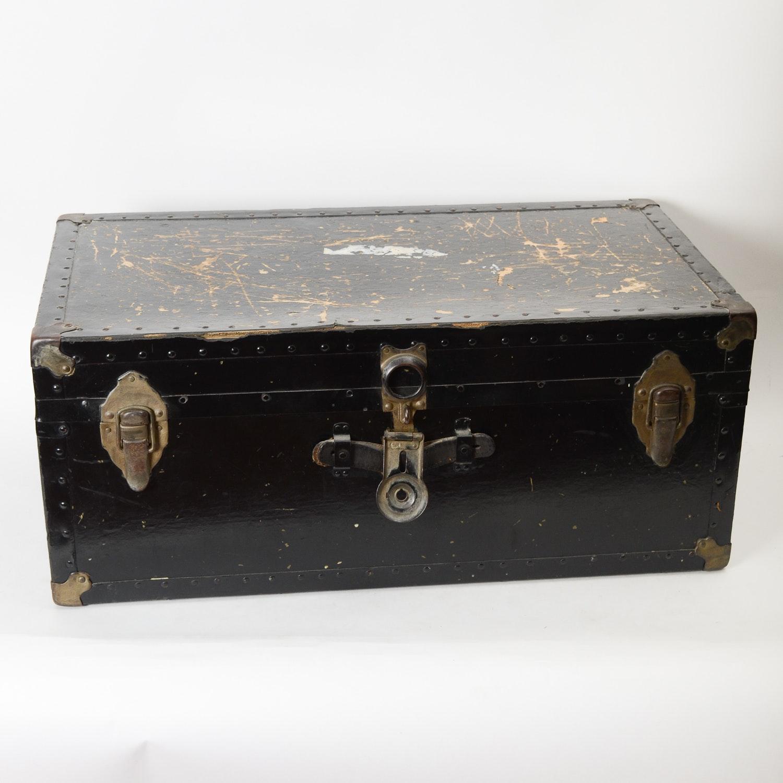 Vintage Footlocker Trunk