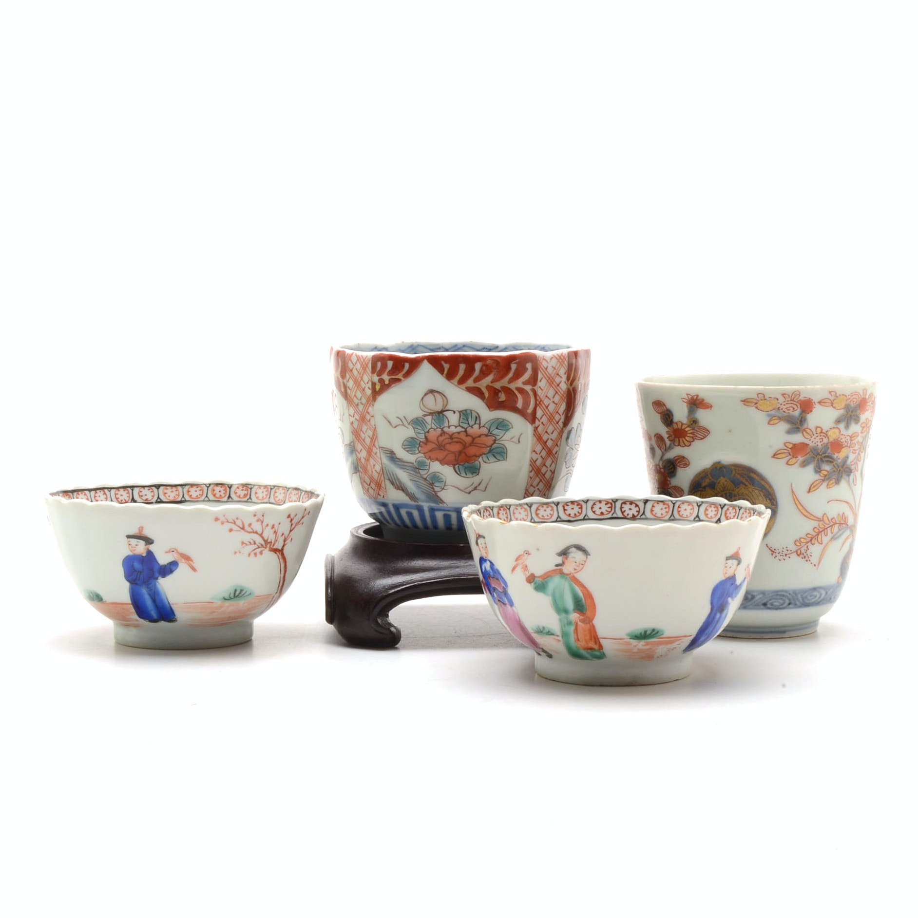 Assorted Japanese Imari Cups