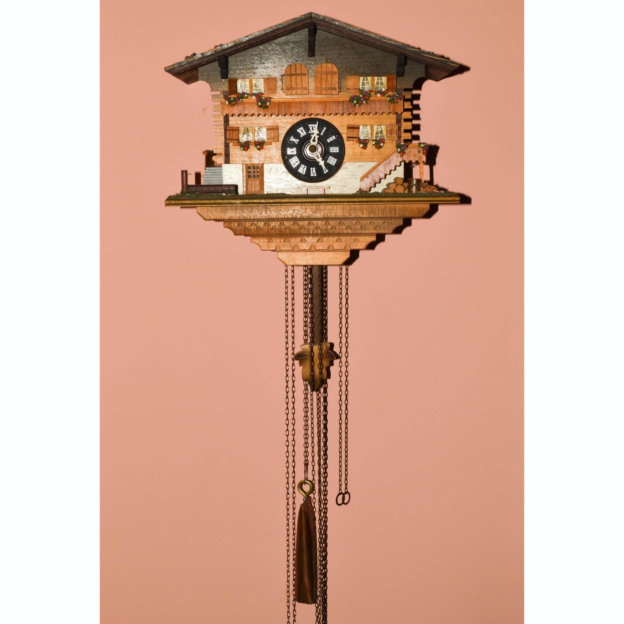 Weggiserlied Schweizerländler Cuckoo Clock