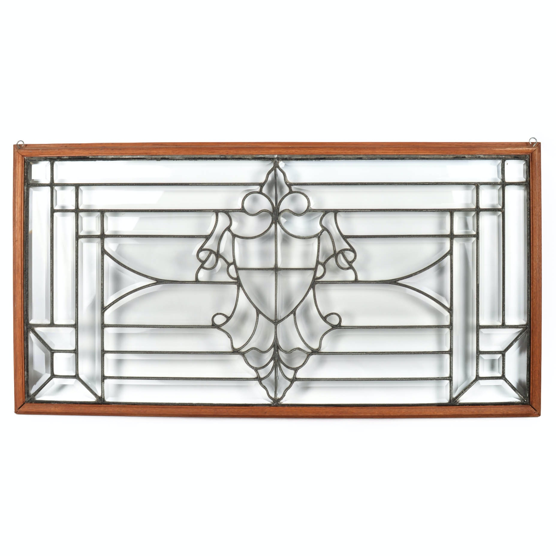 Salvaged Antique Leaded Glass Window