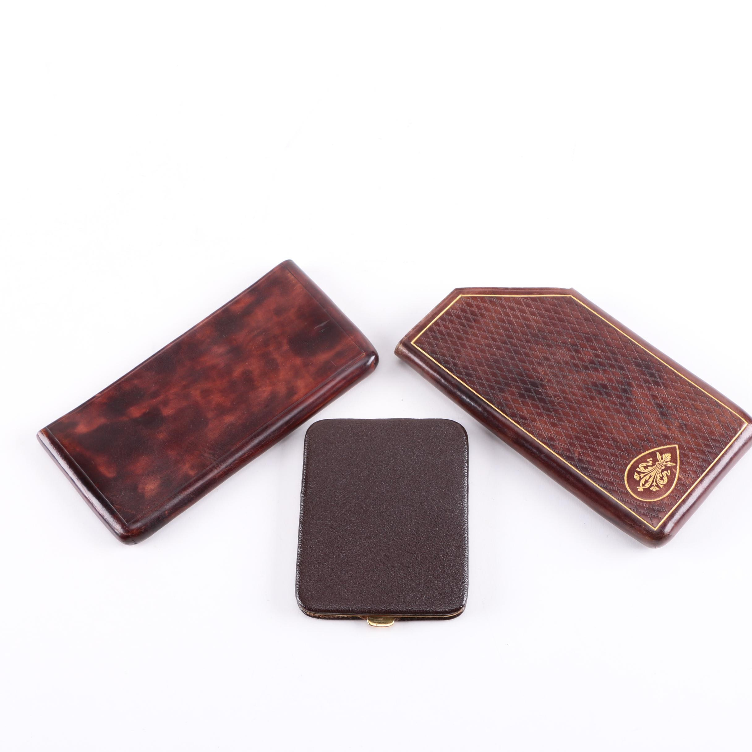 Business Card and Check Holders