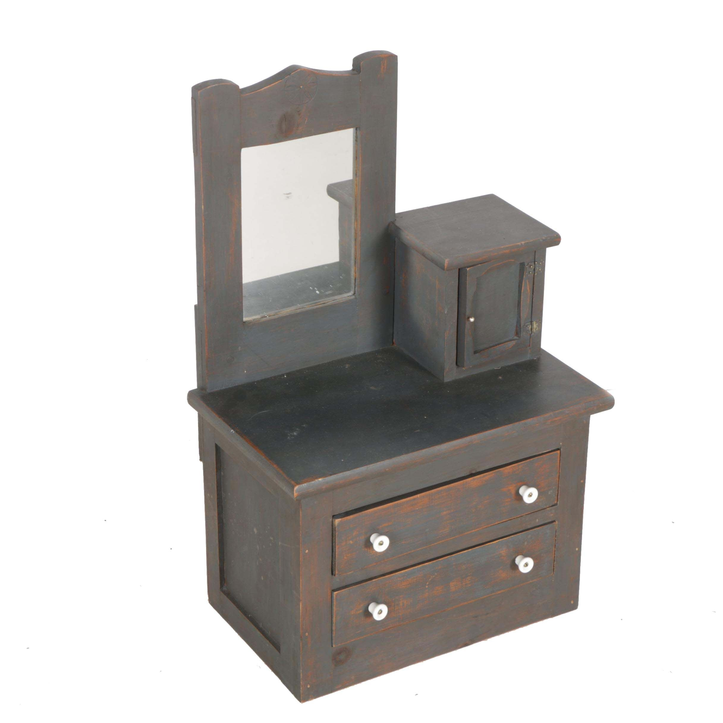 Miniature Wooden Dresser