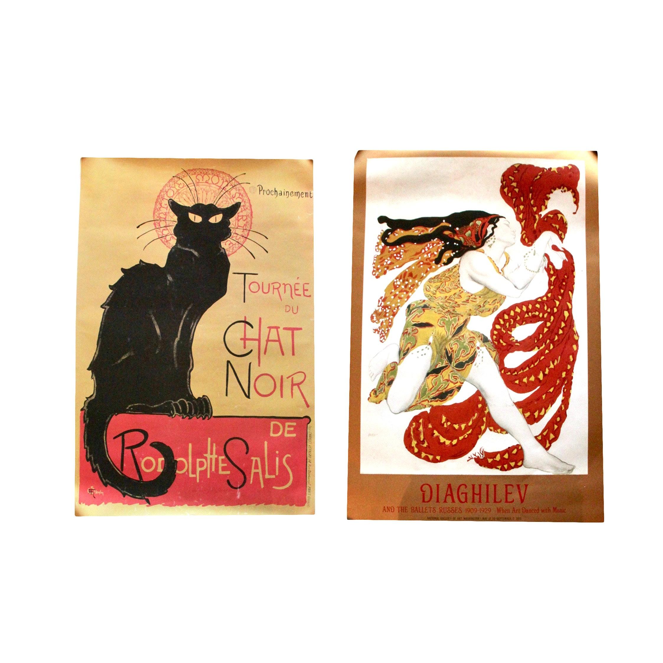 Offset Lithograph Art Poster Prints