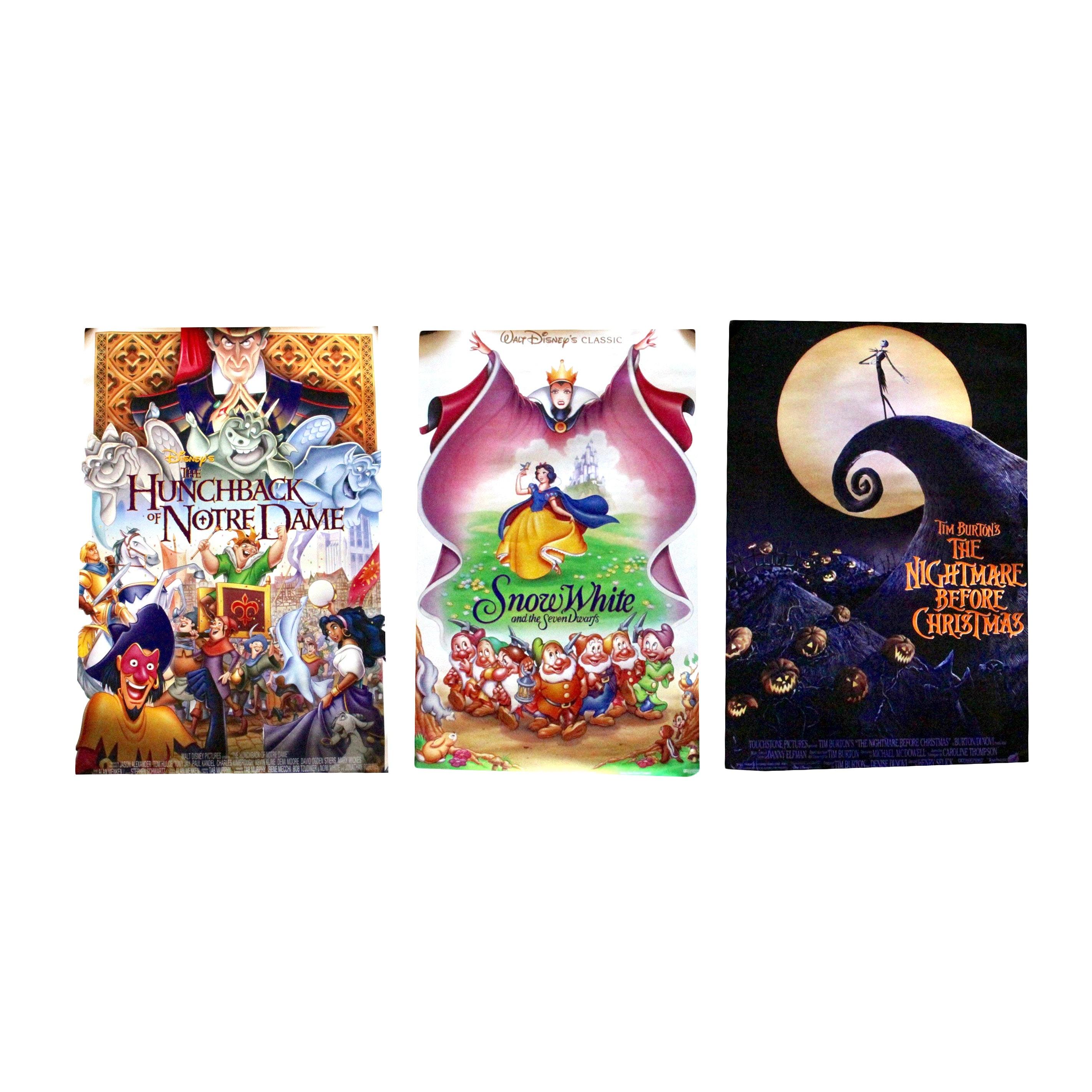 Assortment of Children's Movie Posters