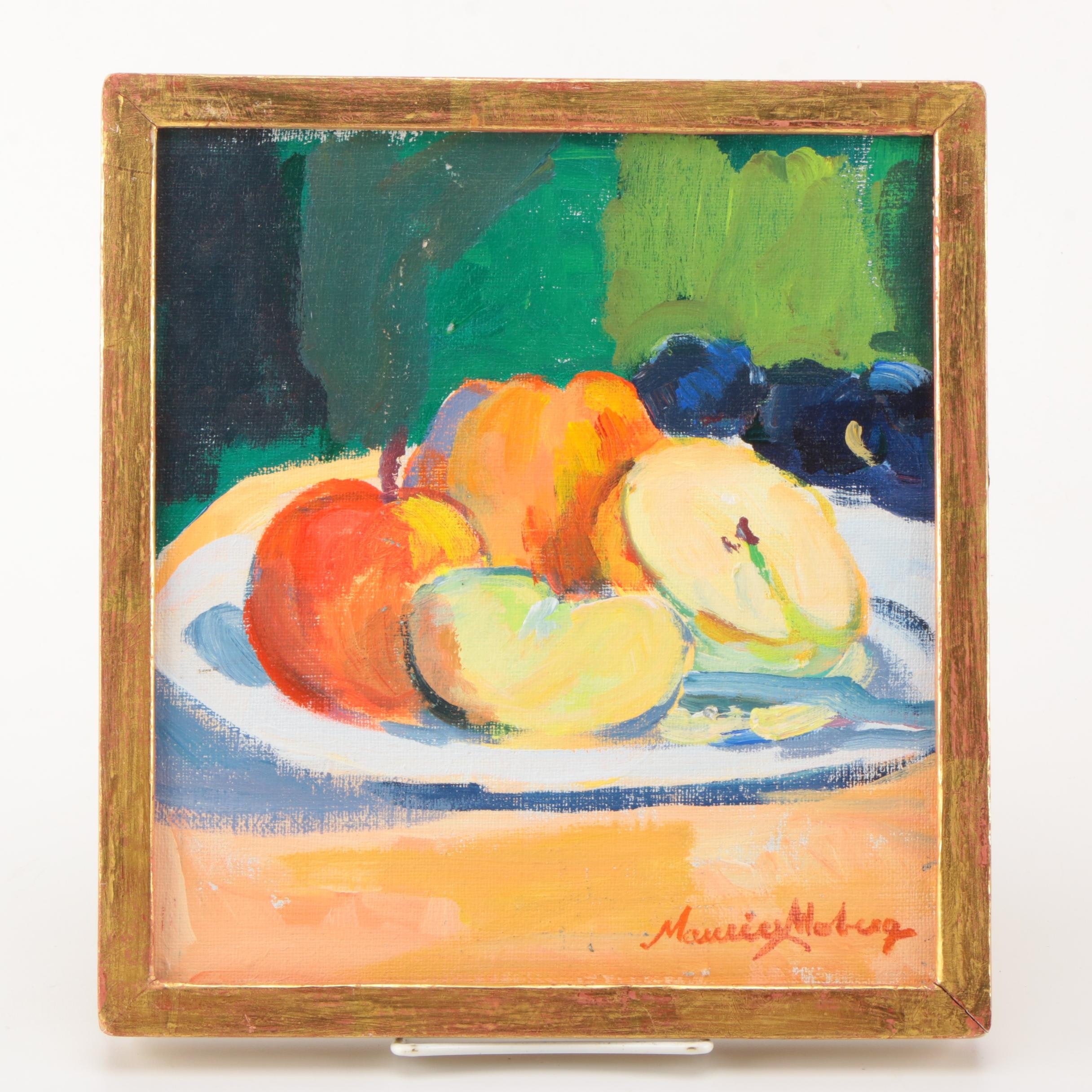 Maurice Moberg Oil Painting on Canvas Still Life
