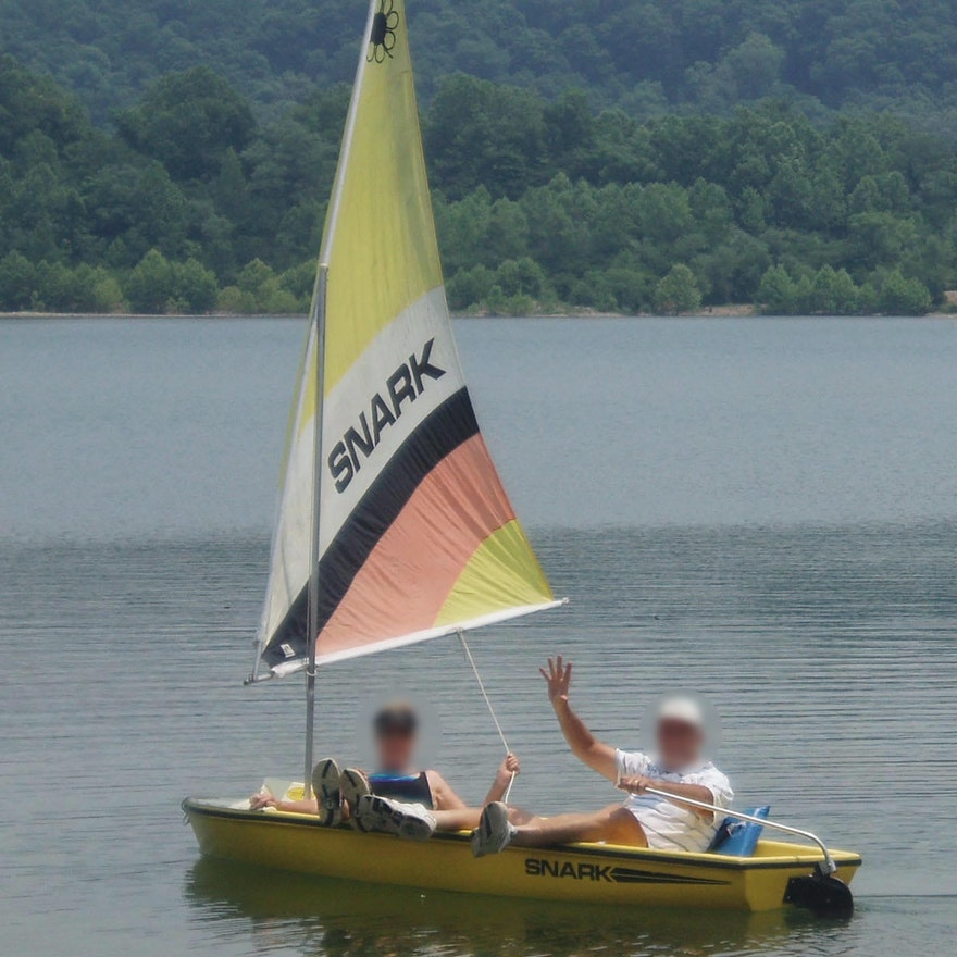 Snark Sunflower 11-Foot Two-Person Sailboat