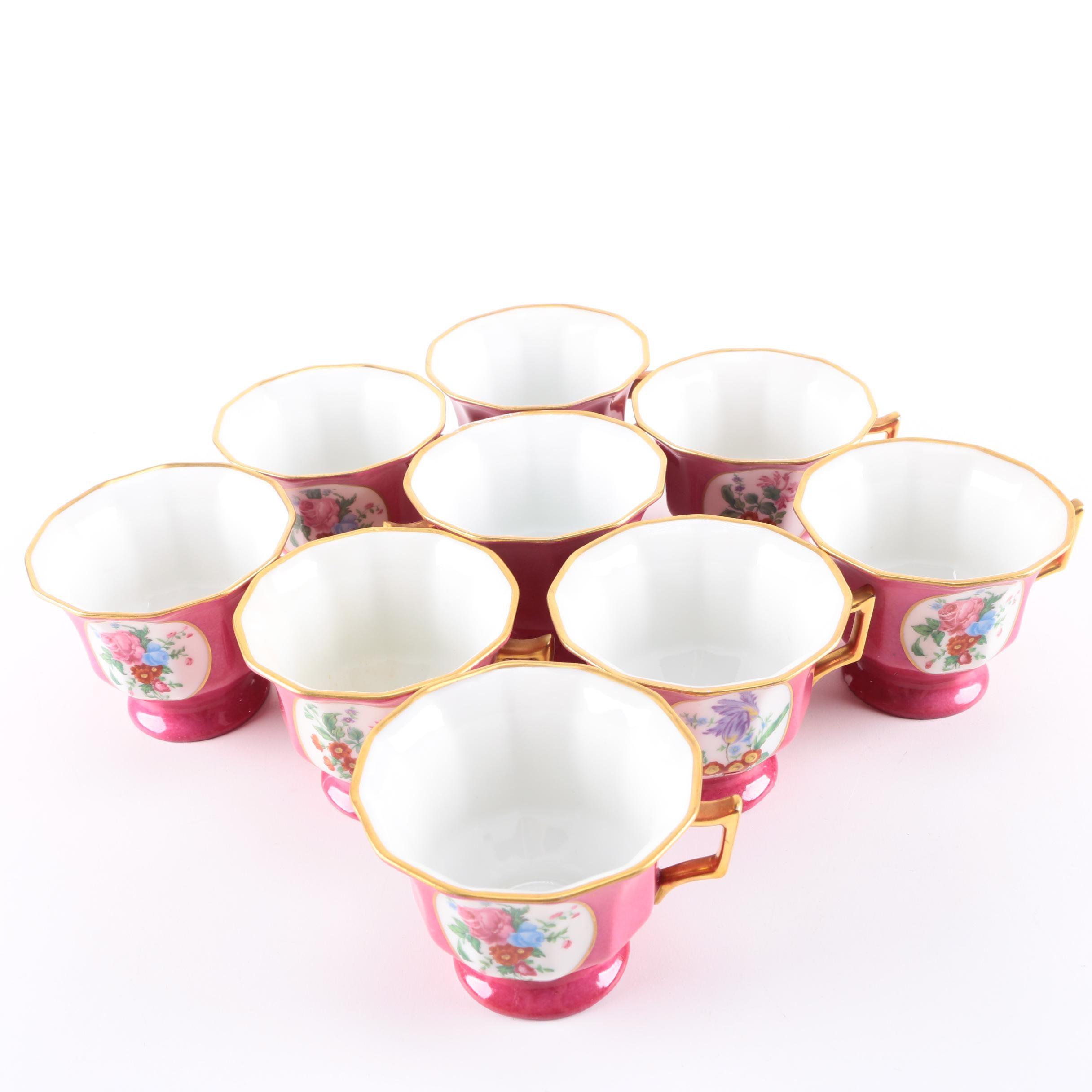 Limoges Teacup Set