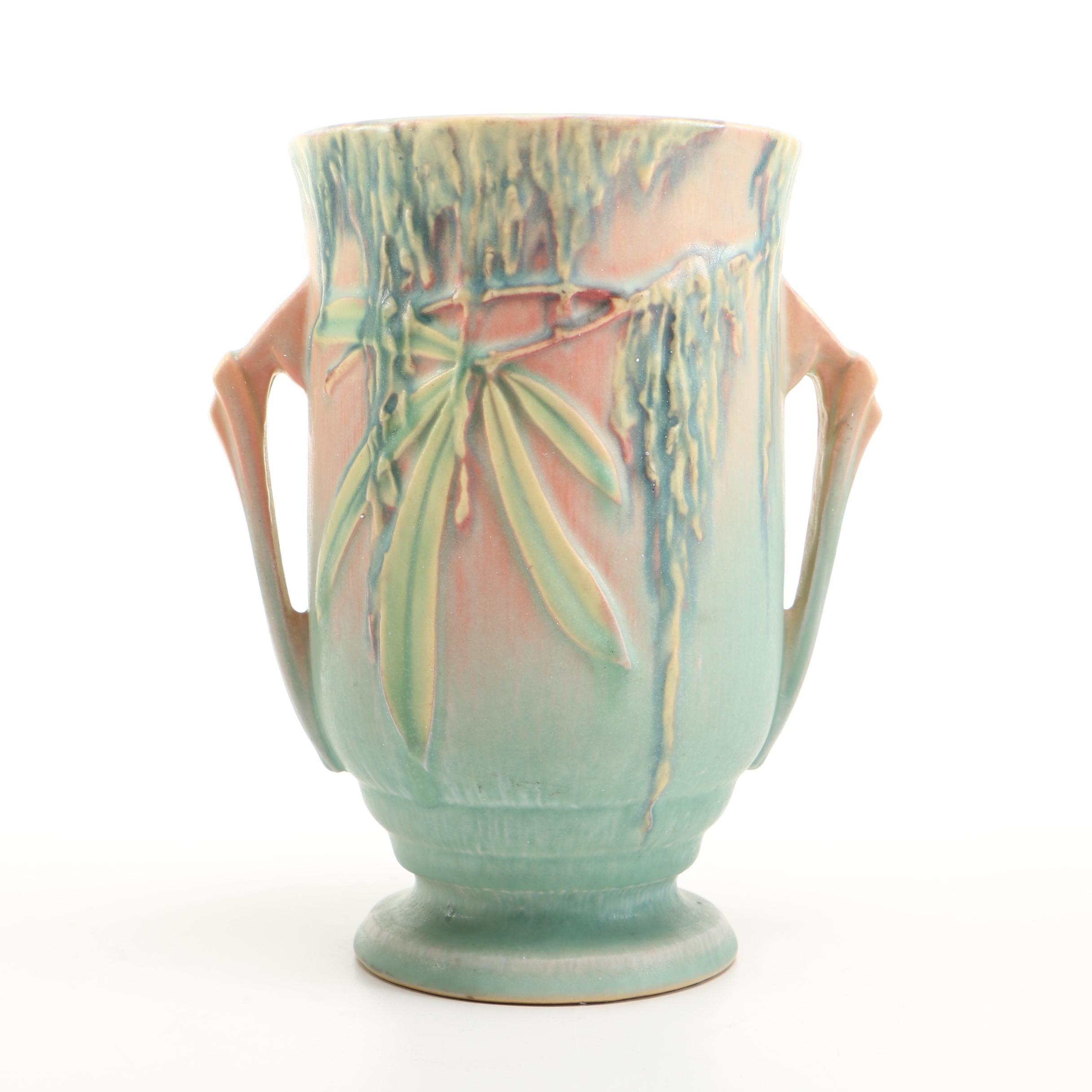 """Roseville Pottery """"Moss"""" Vase"""