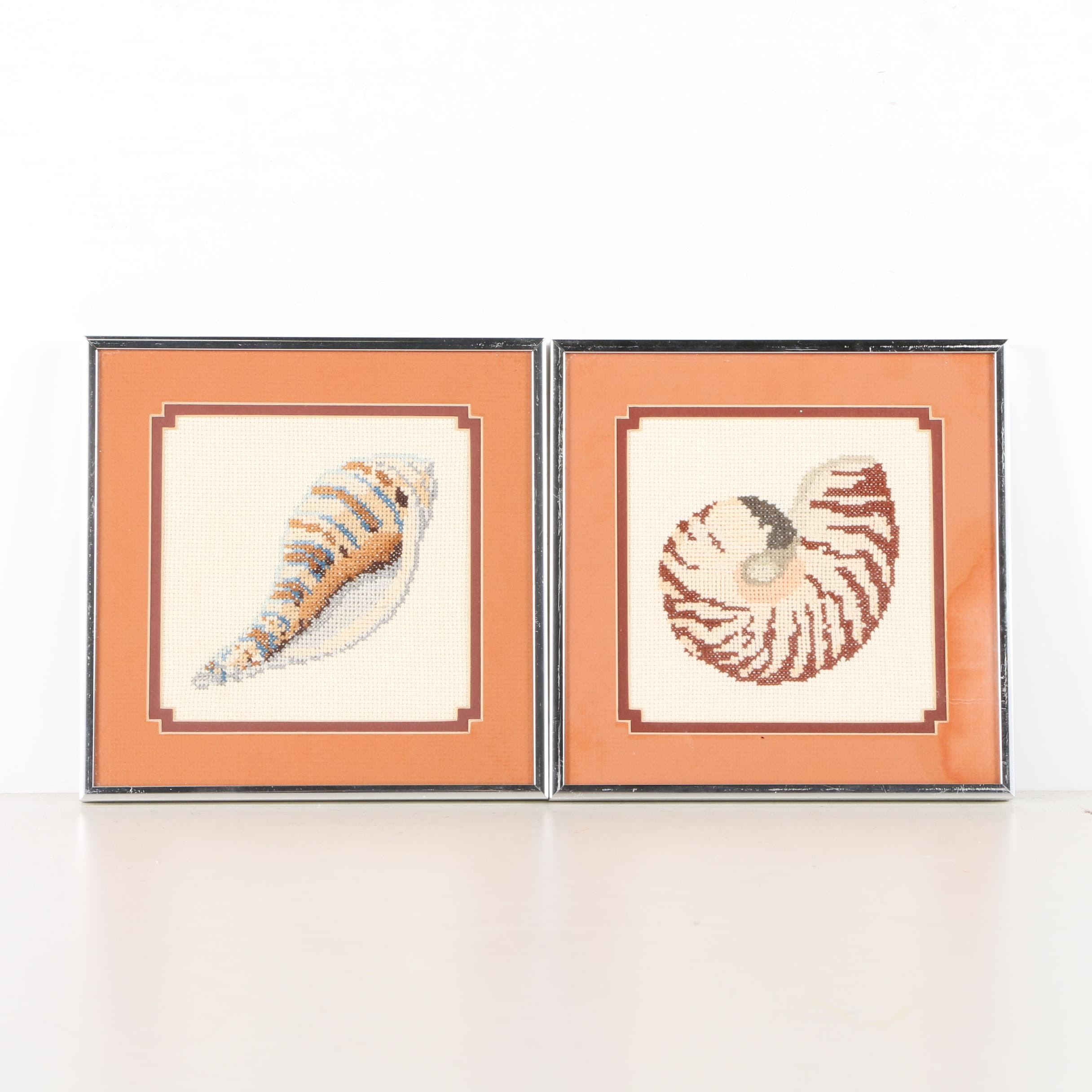 Cross-Stitches of Shells