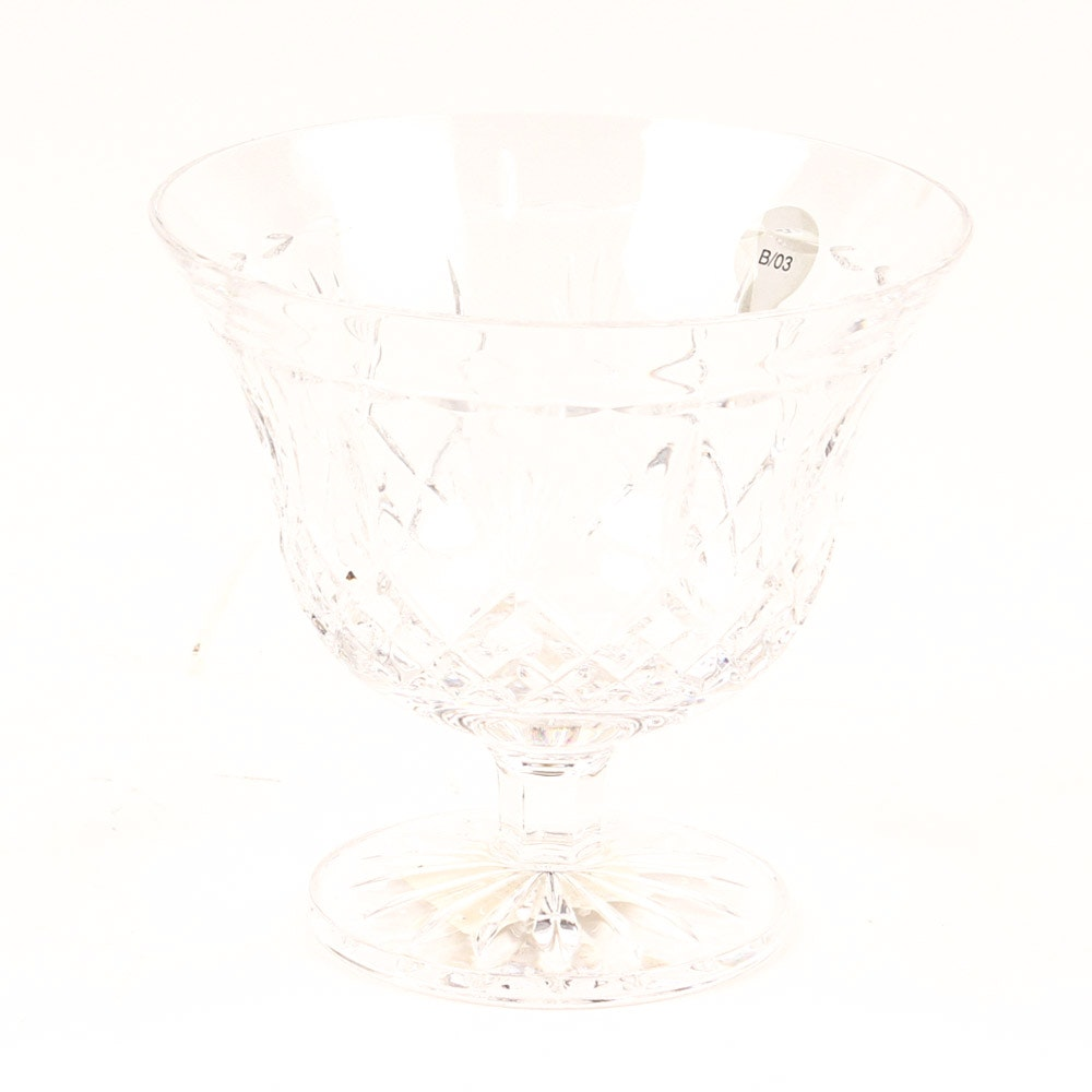 "Waterford Crystal  ""Killarney"" Footed Bowl"