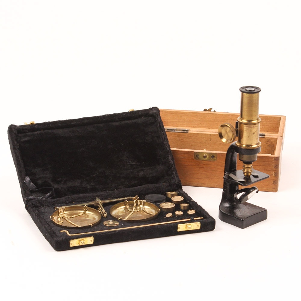 Vintage Scientific Analytical Tools