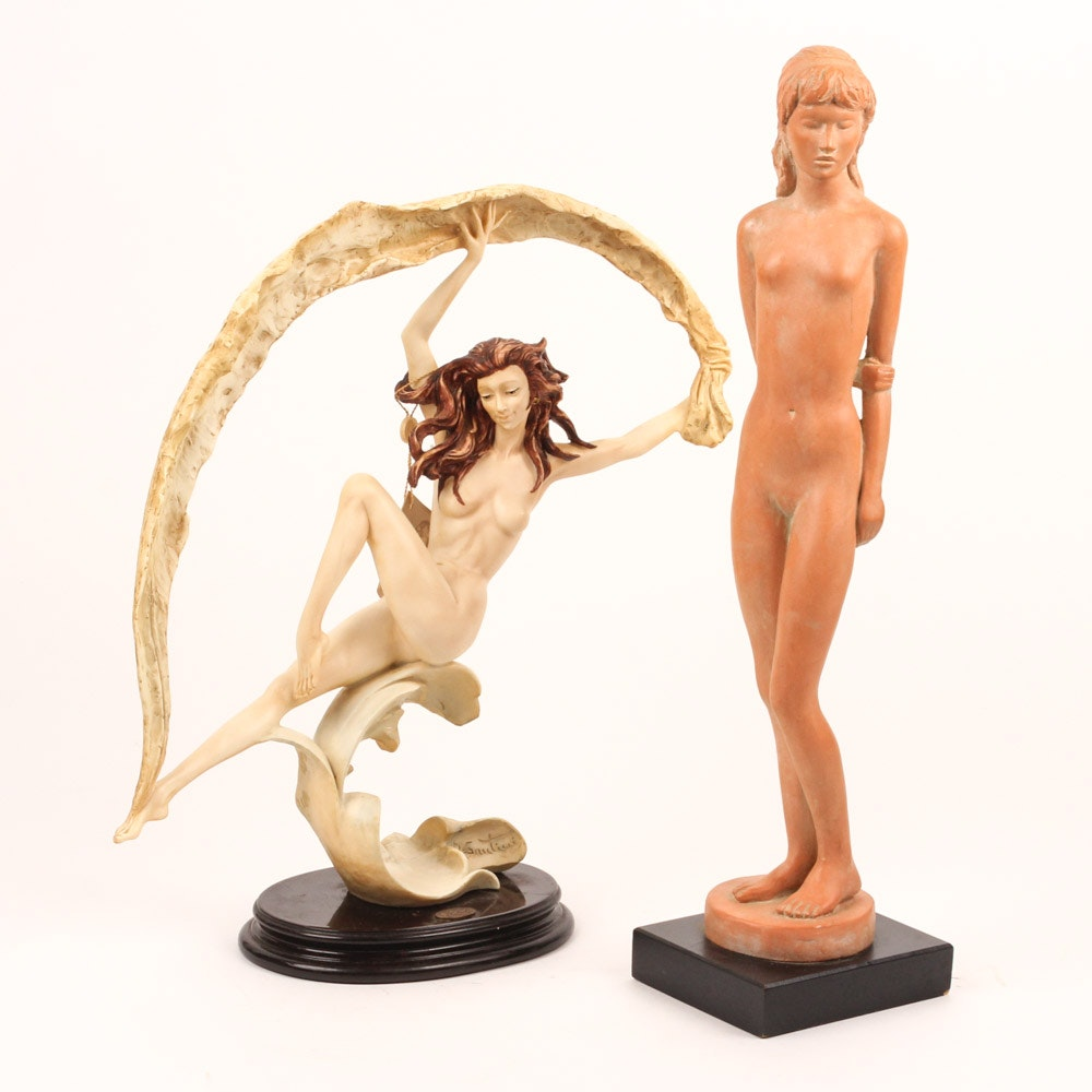 Nude Sculptures Featuring Austin Productions