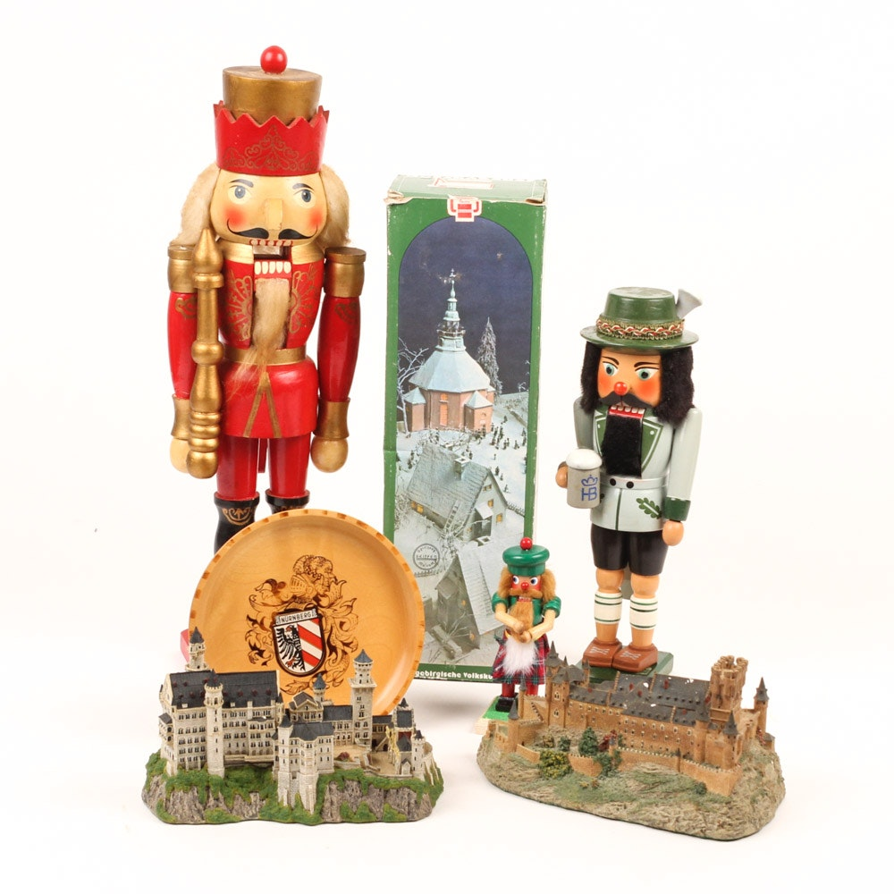 German Nutcrackers and Decor