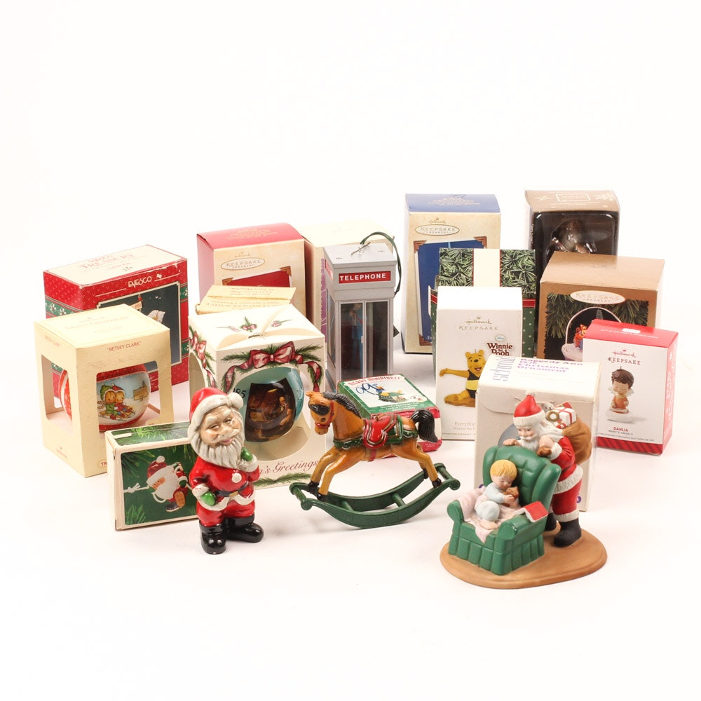 Generous Selection of Christmas Ornaments