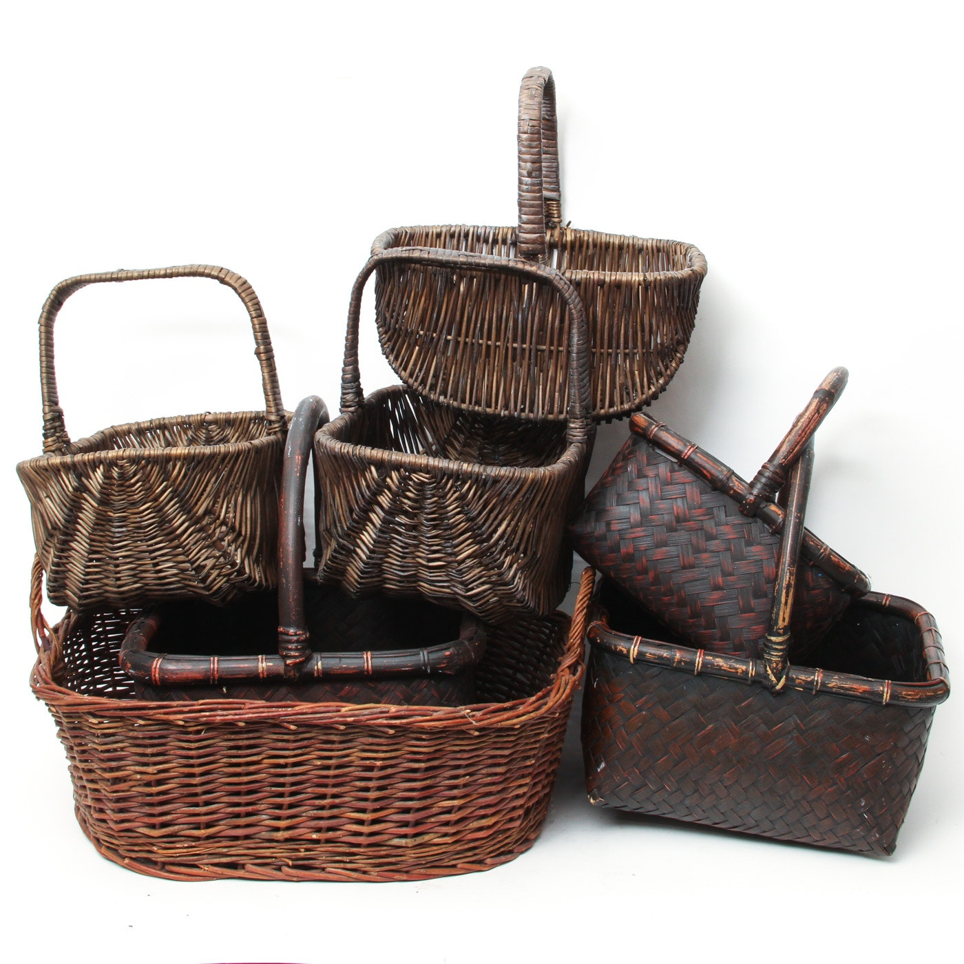 Collection of Vintage Baskets