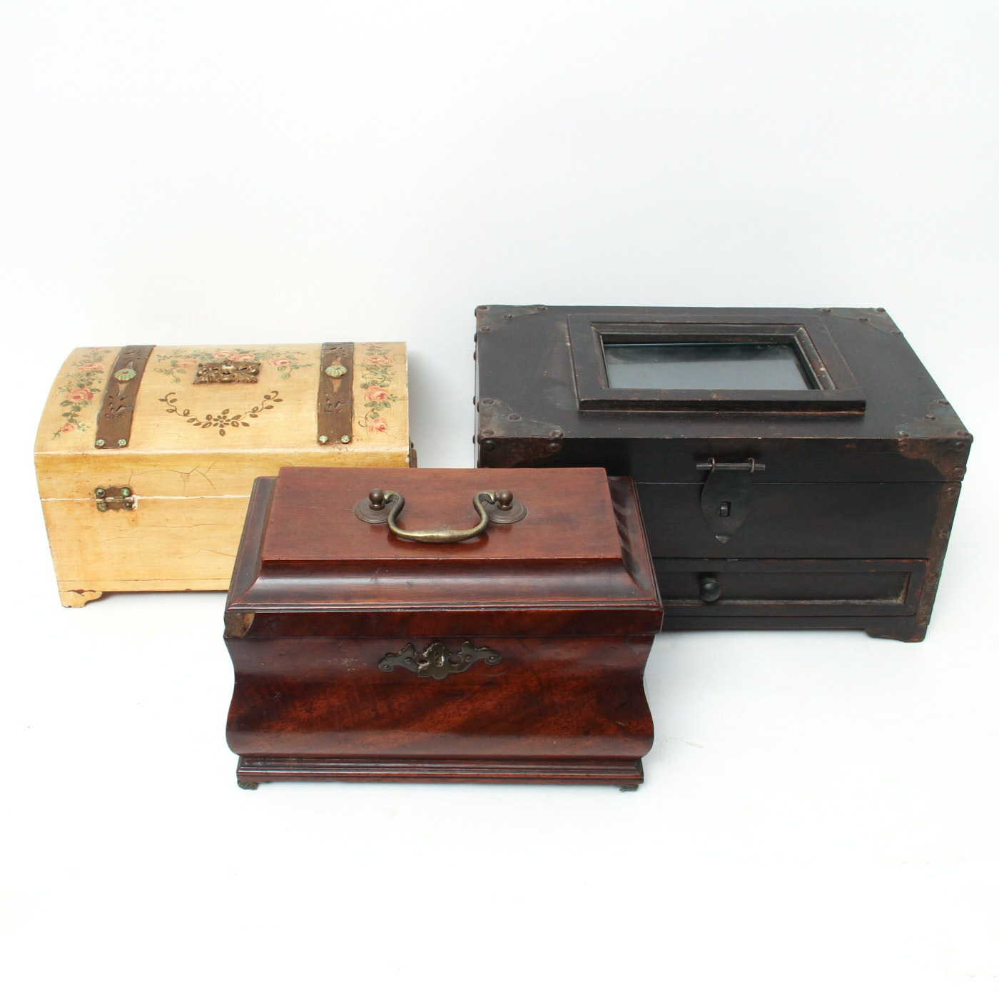 Collection of Wood Boxes