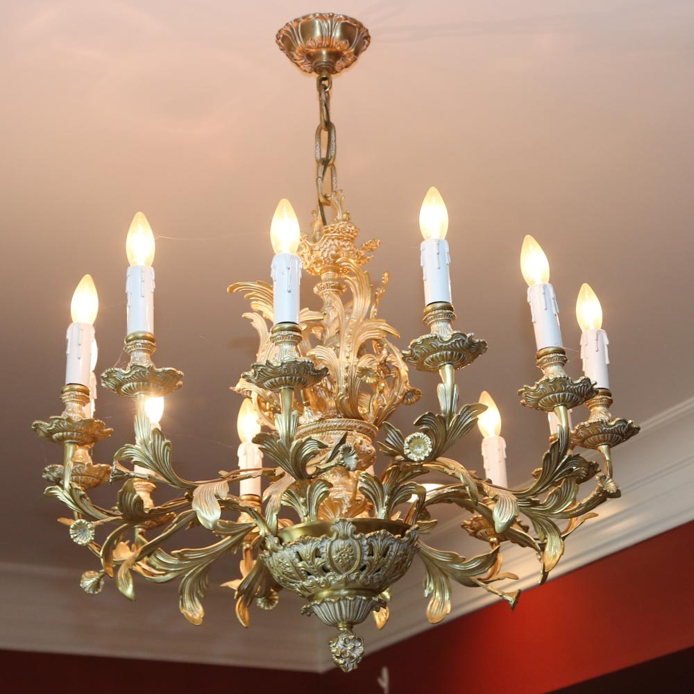 Baroque Style Chandelier