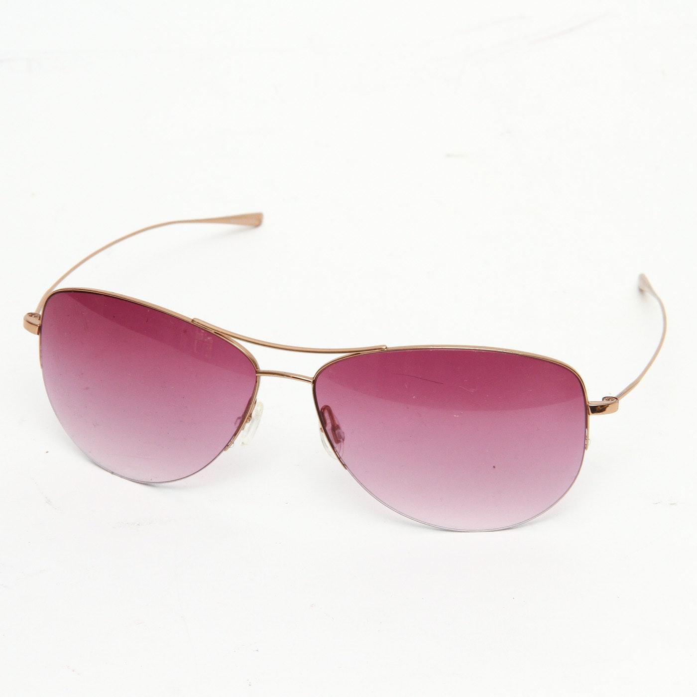 """Oliver Peoples """"Strummer"""" Sunglasses"""