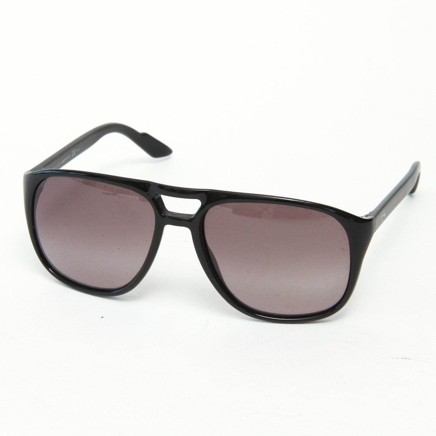 Gucci Black Bileau Sunglasses