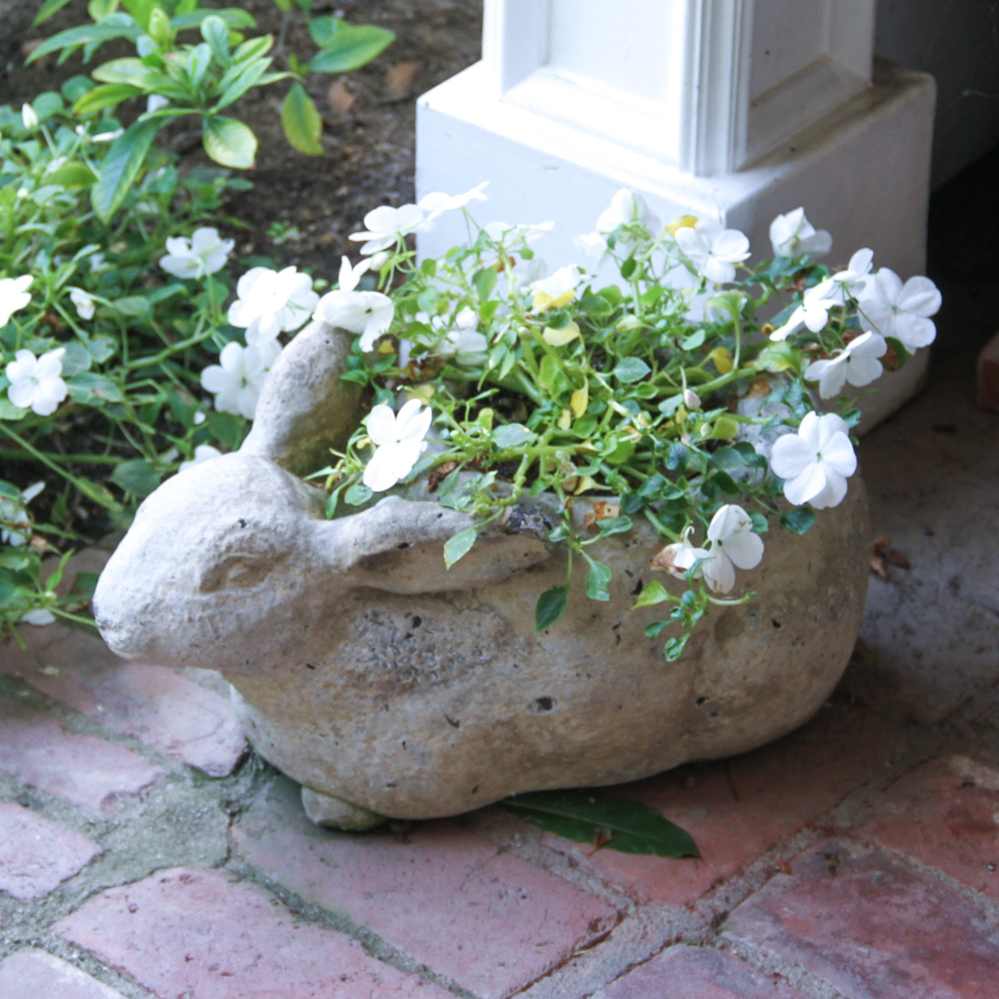 Outdoor Rabbit Planter
