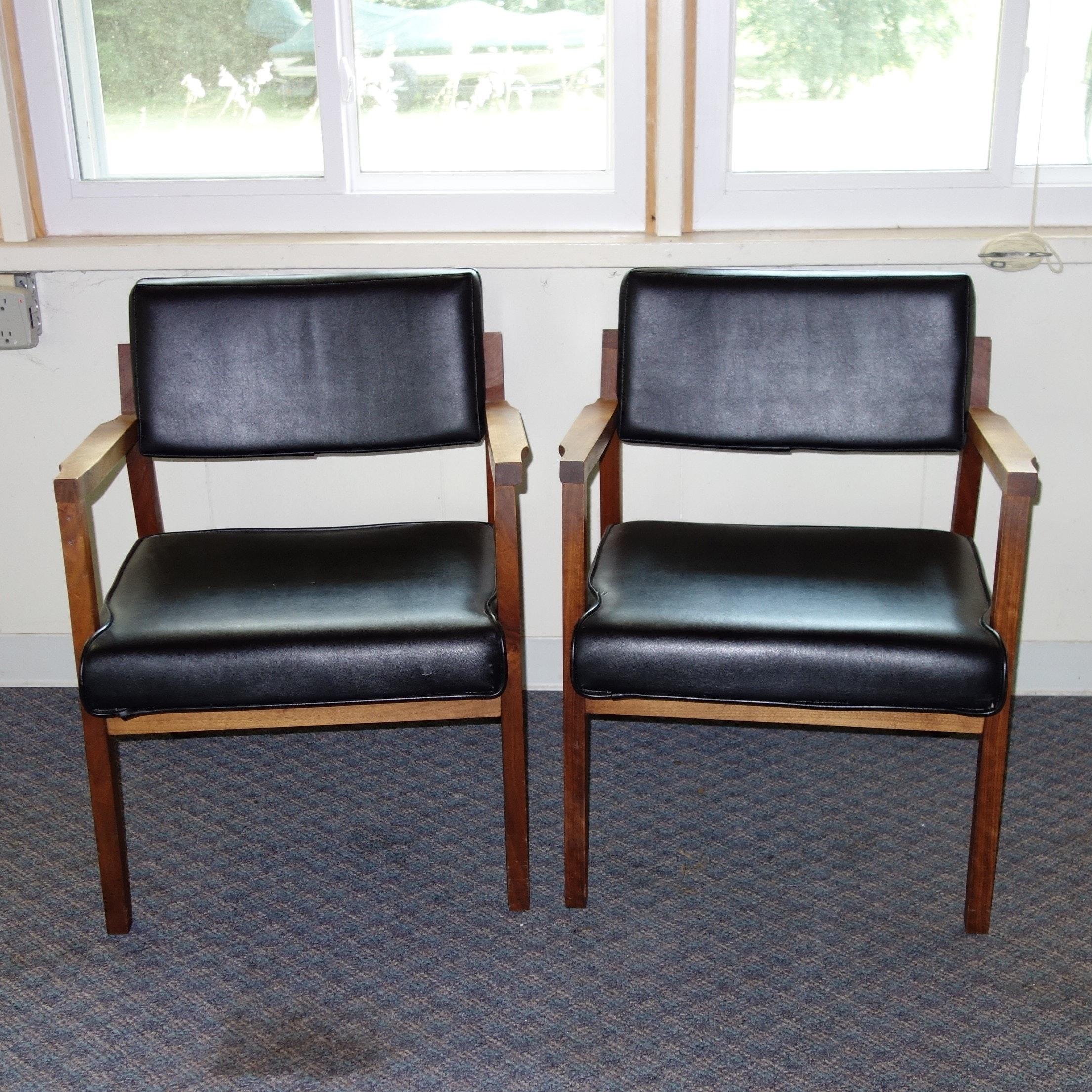 Pair of ECK-Adams Mid Century Modern Chairs