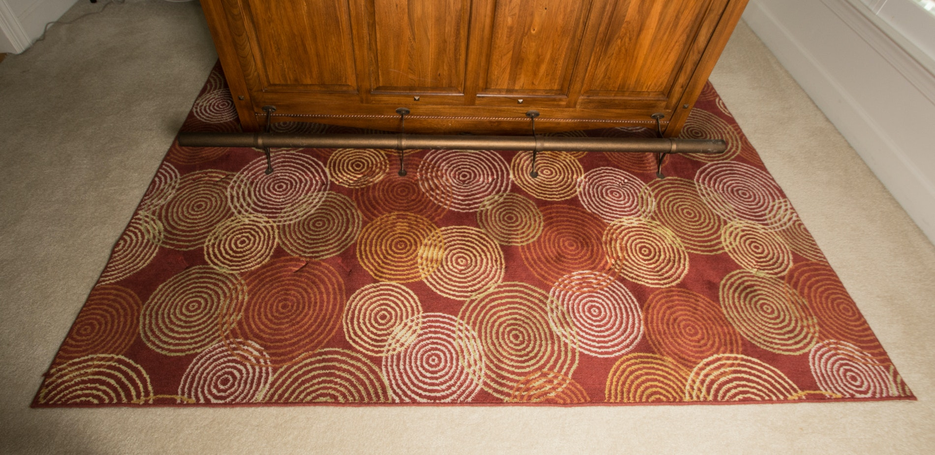 Motions Collection Contemporary Area Rug