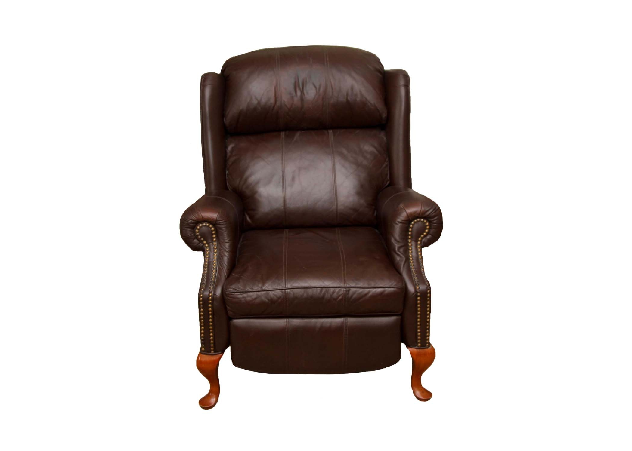 Wing Leather Reclining Chair
