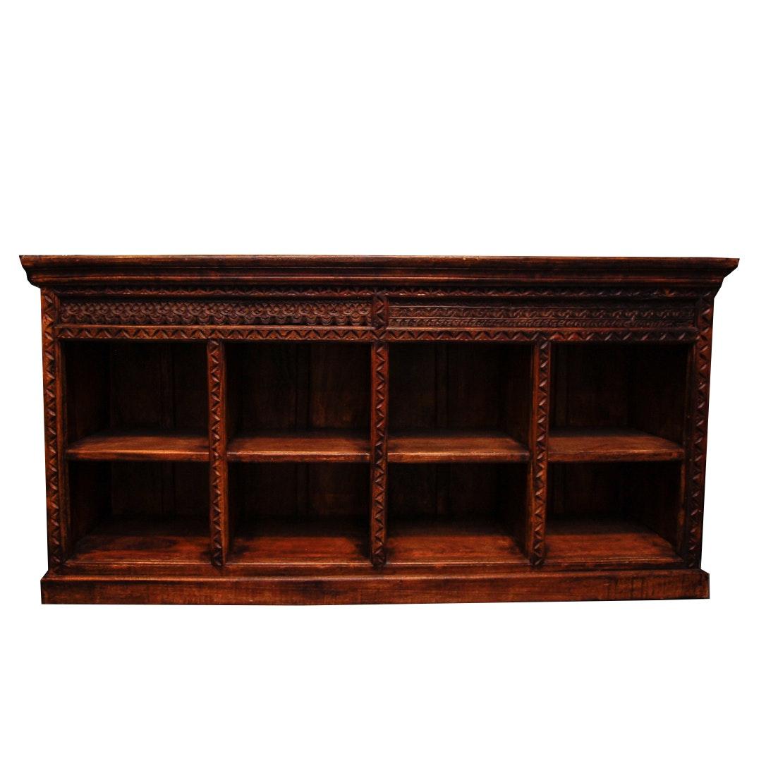 Jacobean Style Wooden Shelf