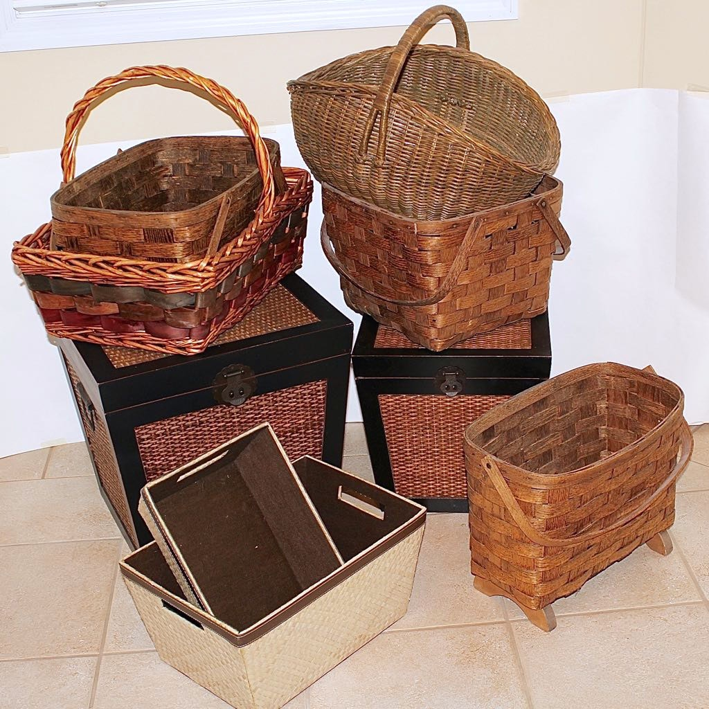 Storage Chests & Baskets Decor