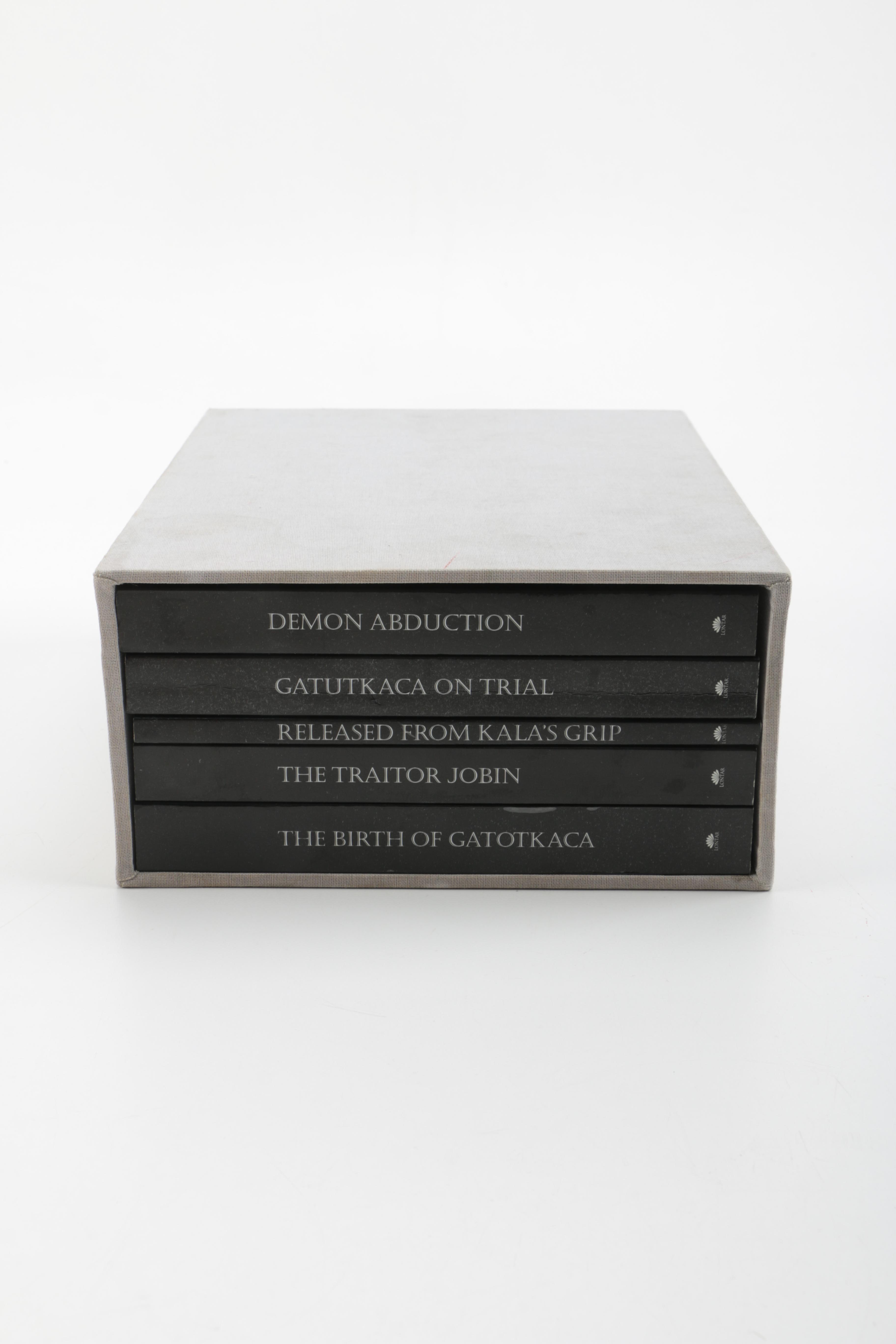Set of Wayang Performance Books