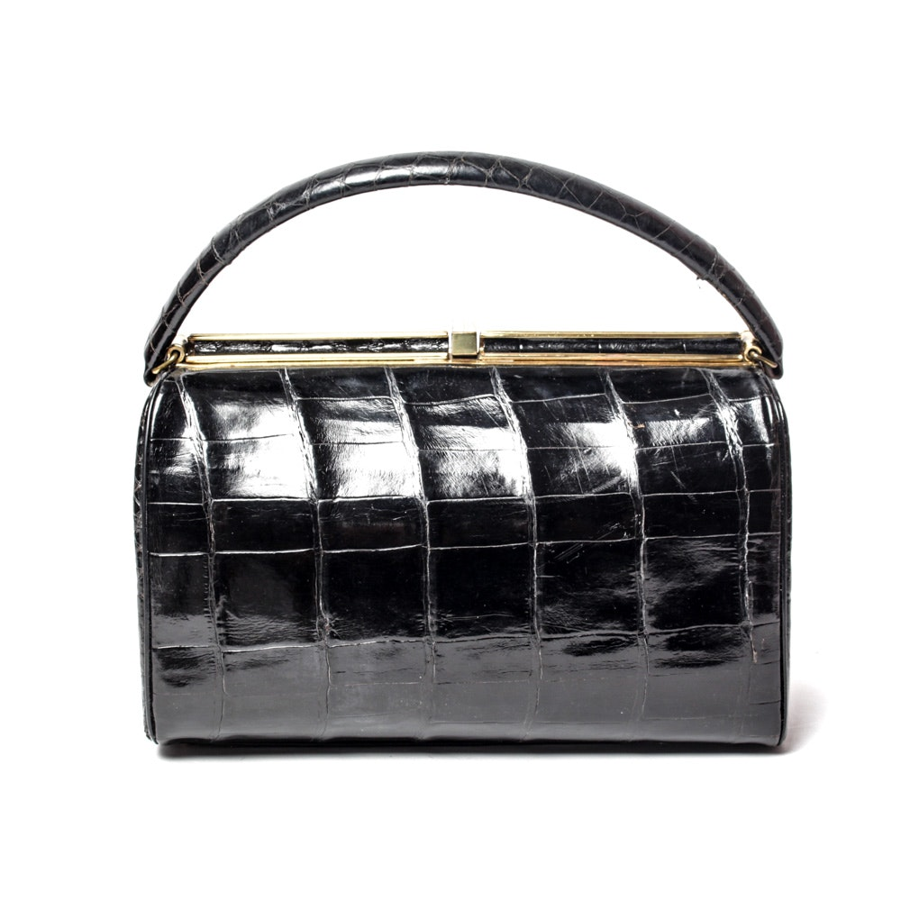 Bellestone Vintage Alligator Handbag