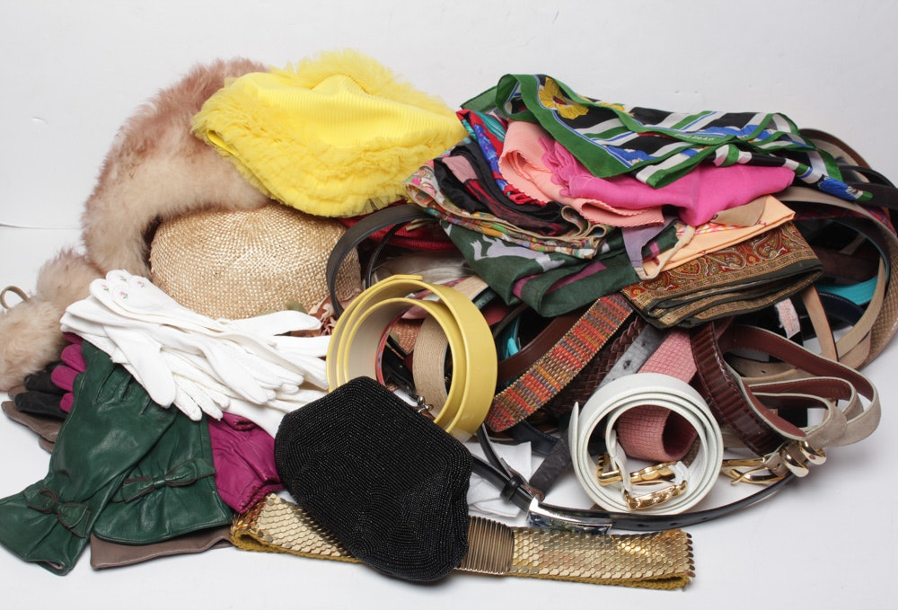 Retro Fashion Accessory Assortment