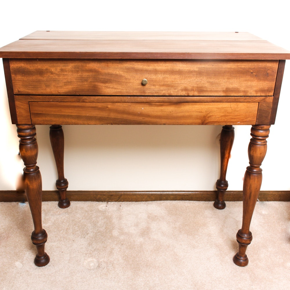 Spinet Style Writing Desk