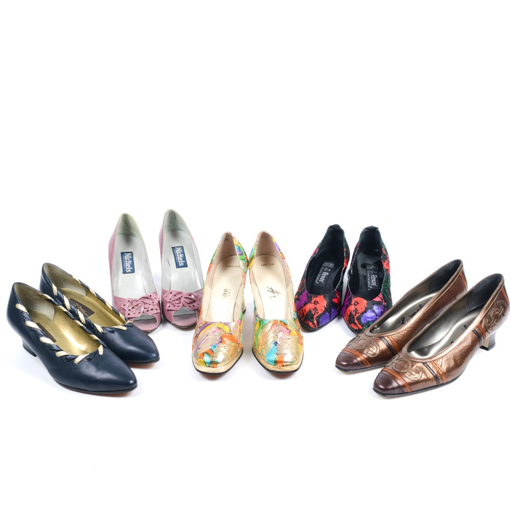 Eclectic Group of Vintage Shoes