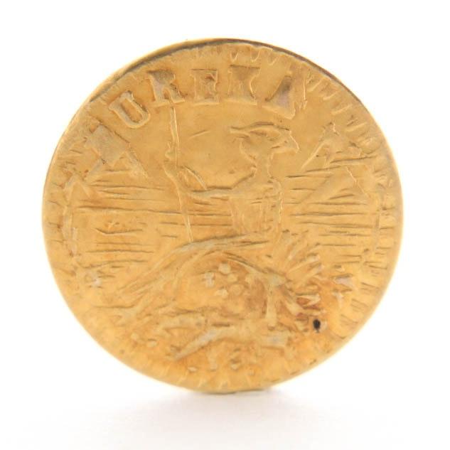 1853 Eureka Arms of California Gold Token