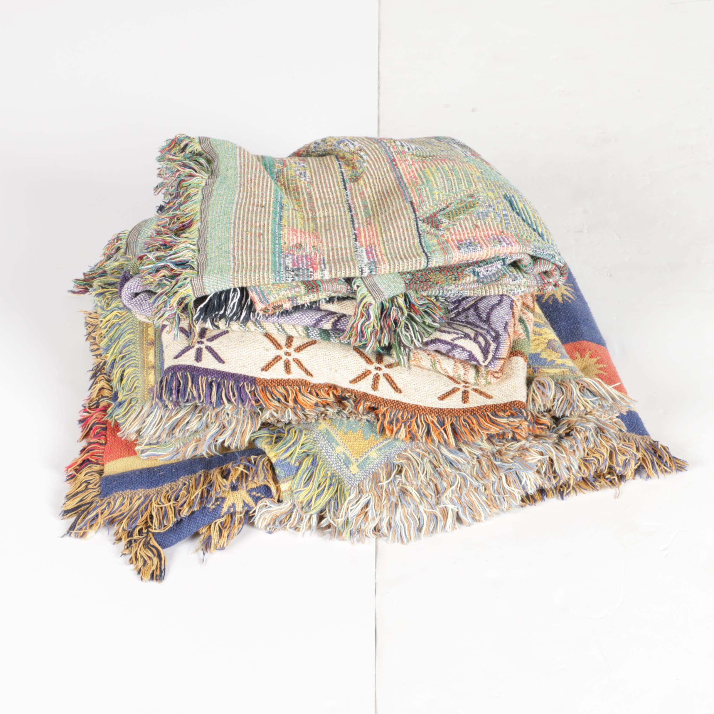 Collection of Woven Blankets