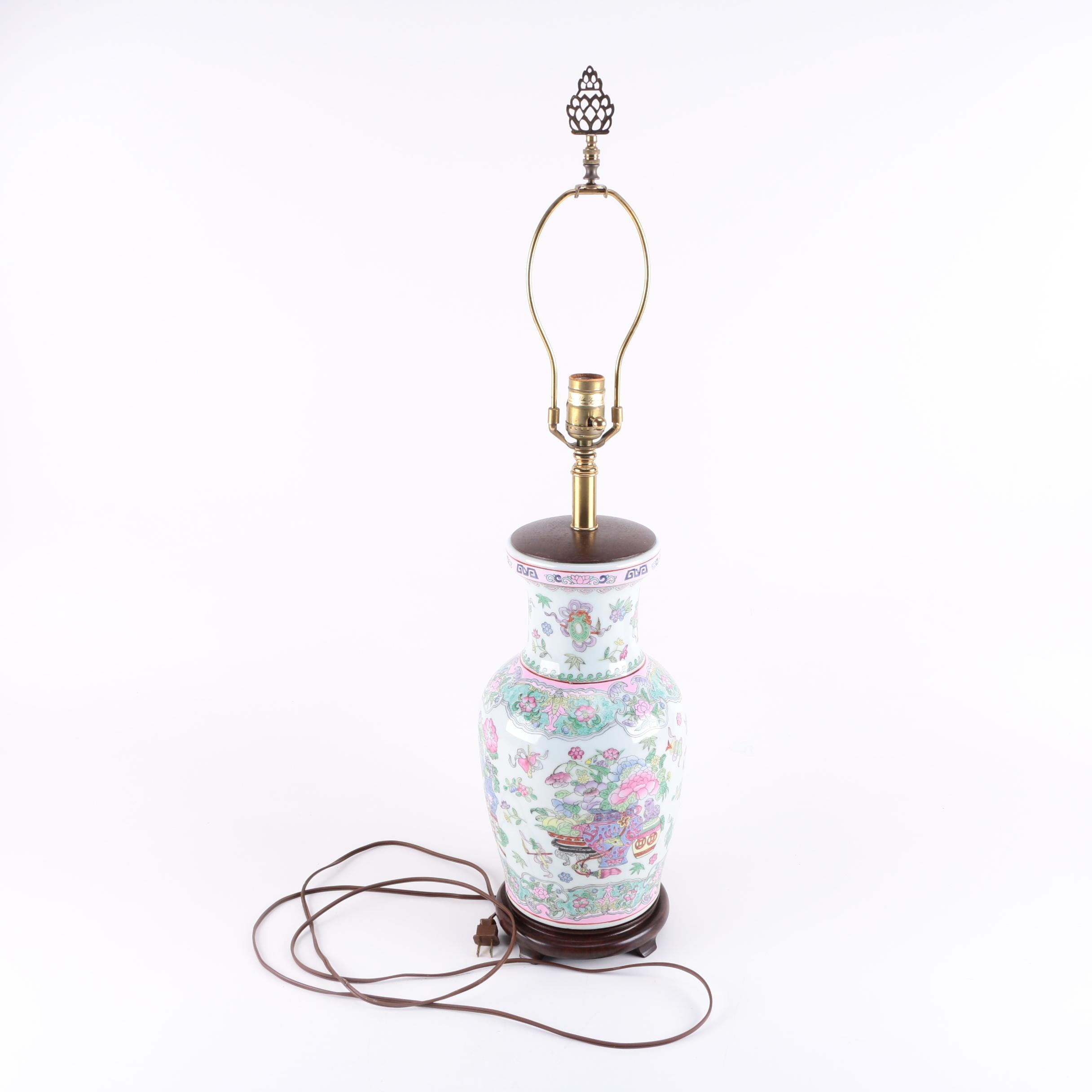 Chinese Inspired Ginger Jar Style Lamp Base